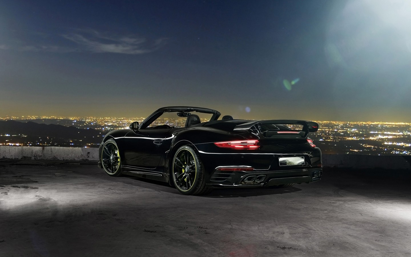 2016 TechArt Porsche 911 Convertible Rear Wallpaper | HD Car Wallpapers | ID #6608
