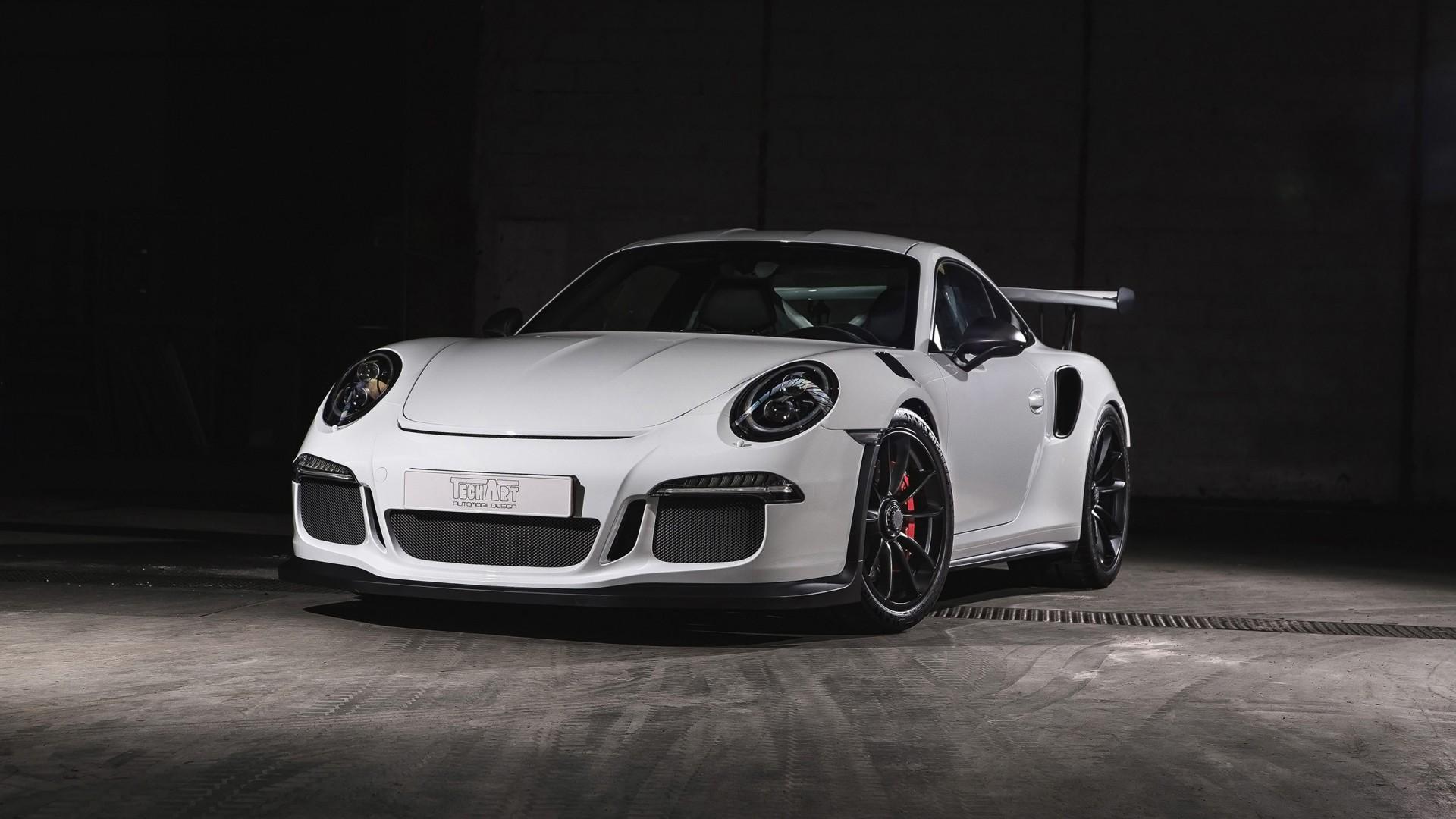 Porsche Gt3 Rs Blue 1920 X 1080: 2016 TechArt Porsche 911 GT3 RS Carbon Sport Wallpaper