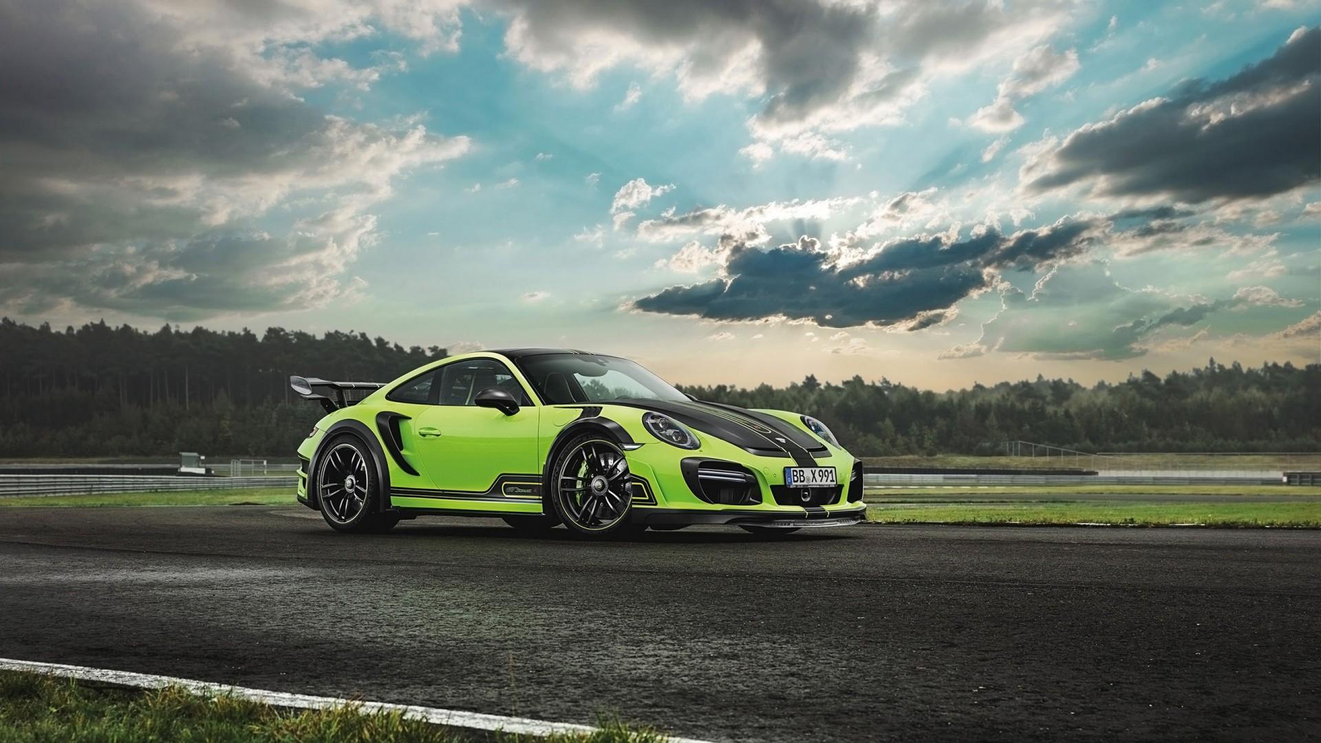 2016 TechArt Porsche 911 Turbo GTstreet R 3 Wallpaper | HD ...