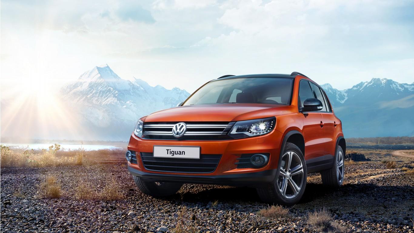 2016 Volkswagen Tiguan SUV Wallpaper   HD Car Wallpapers ...