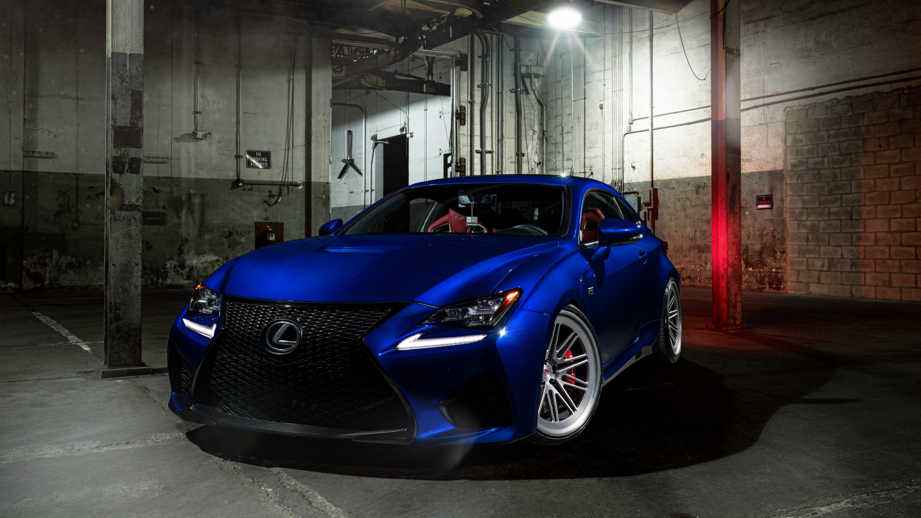 2016 Vossen Blue Lexus RC F Wallpaper | HD Car Wallpapers ...