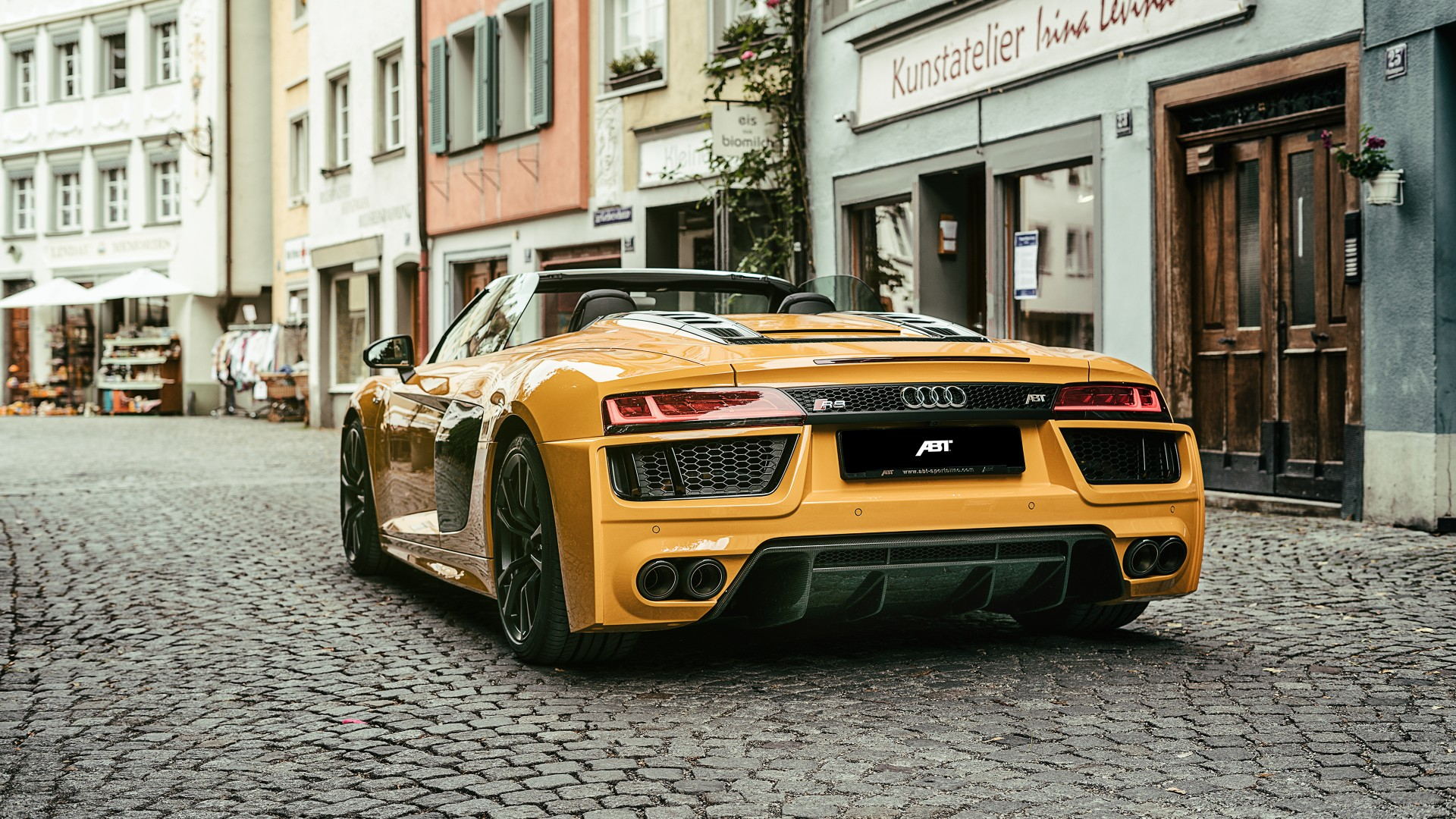 2017 Abt Audi R8 Spyder 4k 3 Wallpaper Hd Car Wallpapers