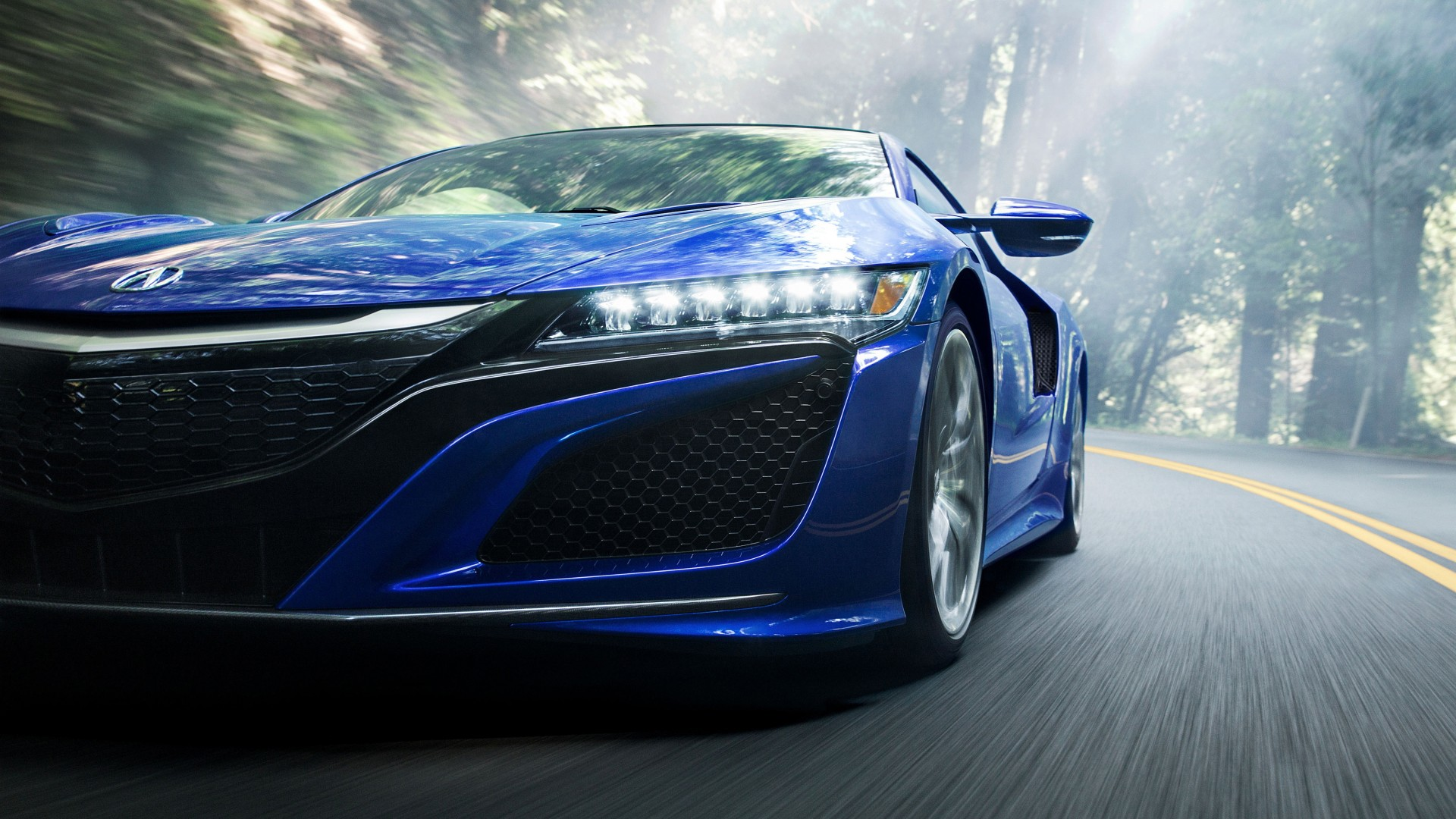 2017 Acura NSX 2 Wallpaper