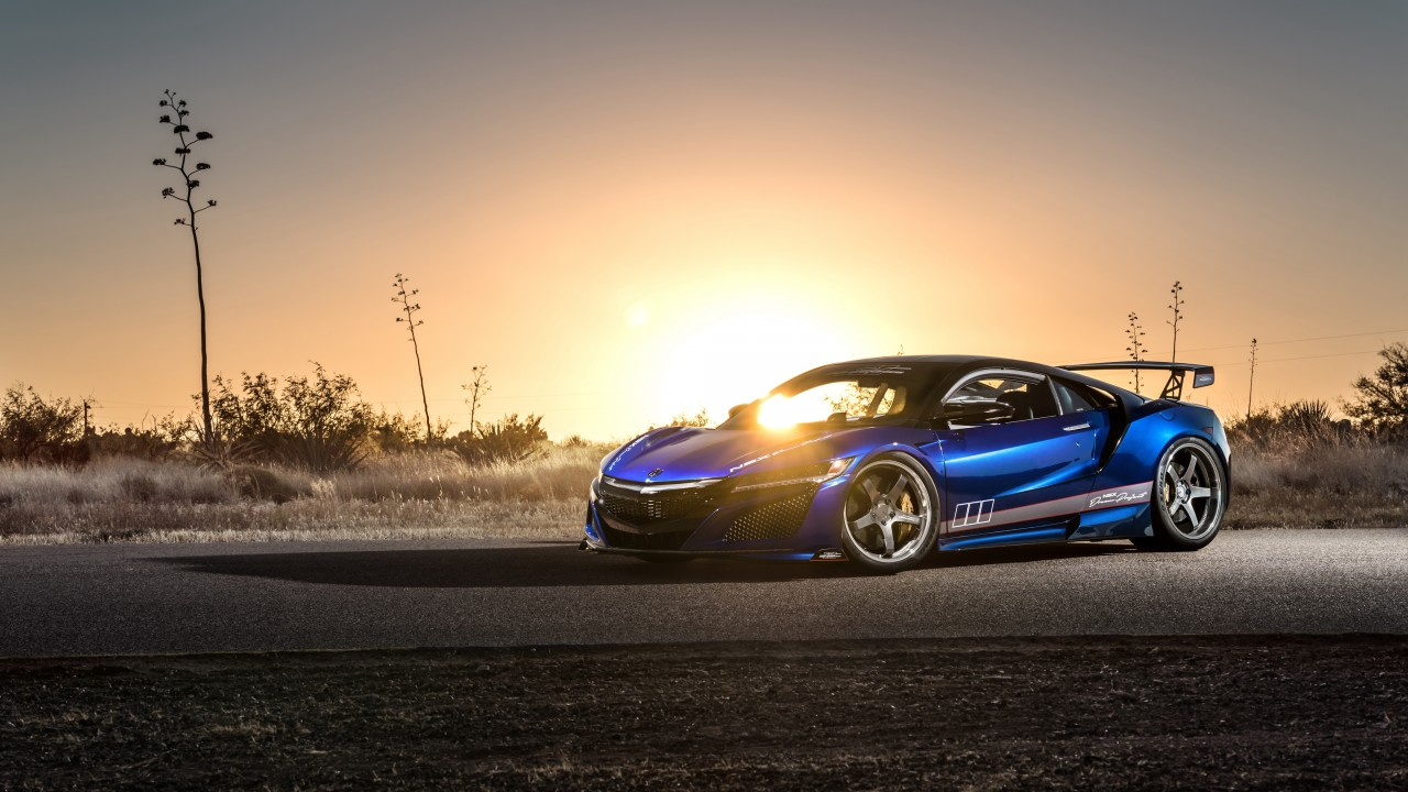 2017 acura nsx scienceofspeed dream project 4k wallpaper