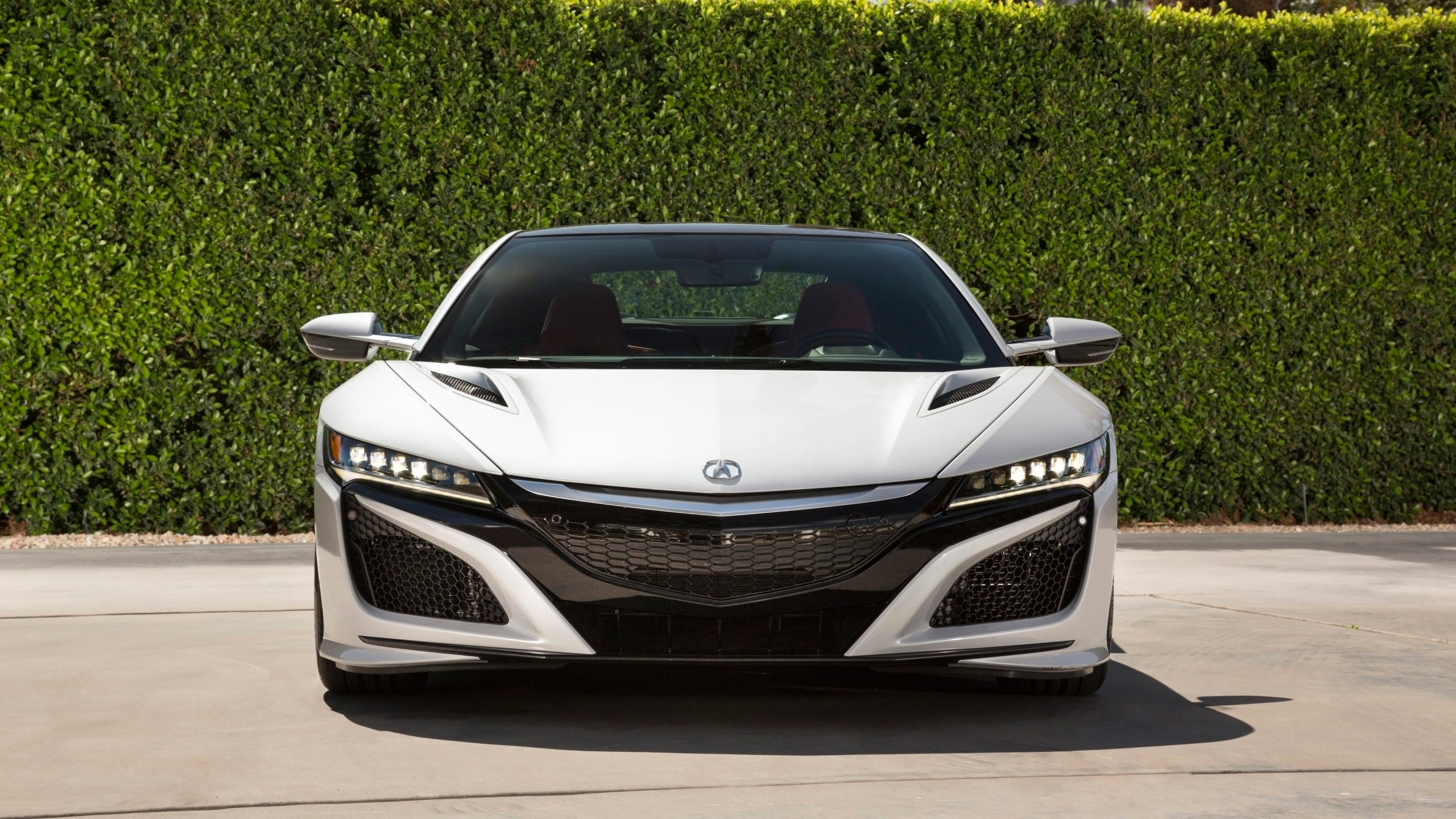 2017 Acura NSX White Wallpaper | HD Car Wallpapers