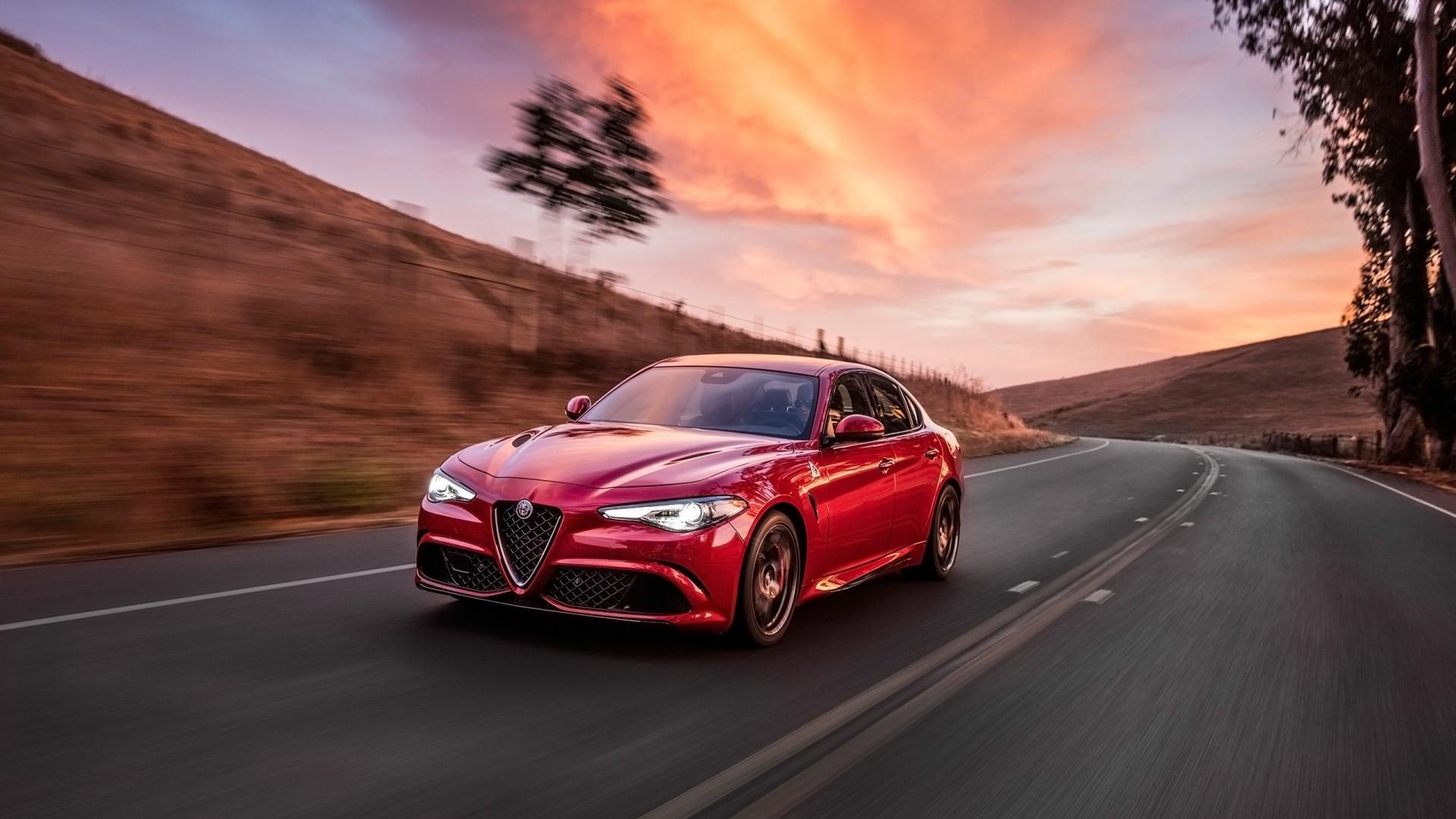 Alfa Romeo Giulietta >> 2017 Alfa Romeo Giulia Quadrifoglio Wallpaper | HD Car ...