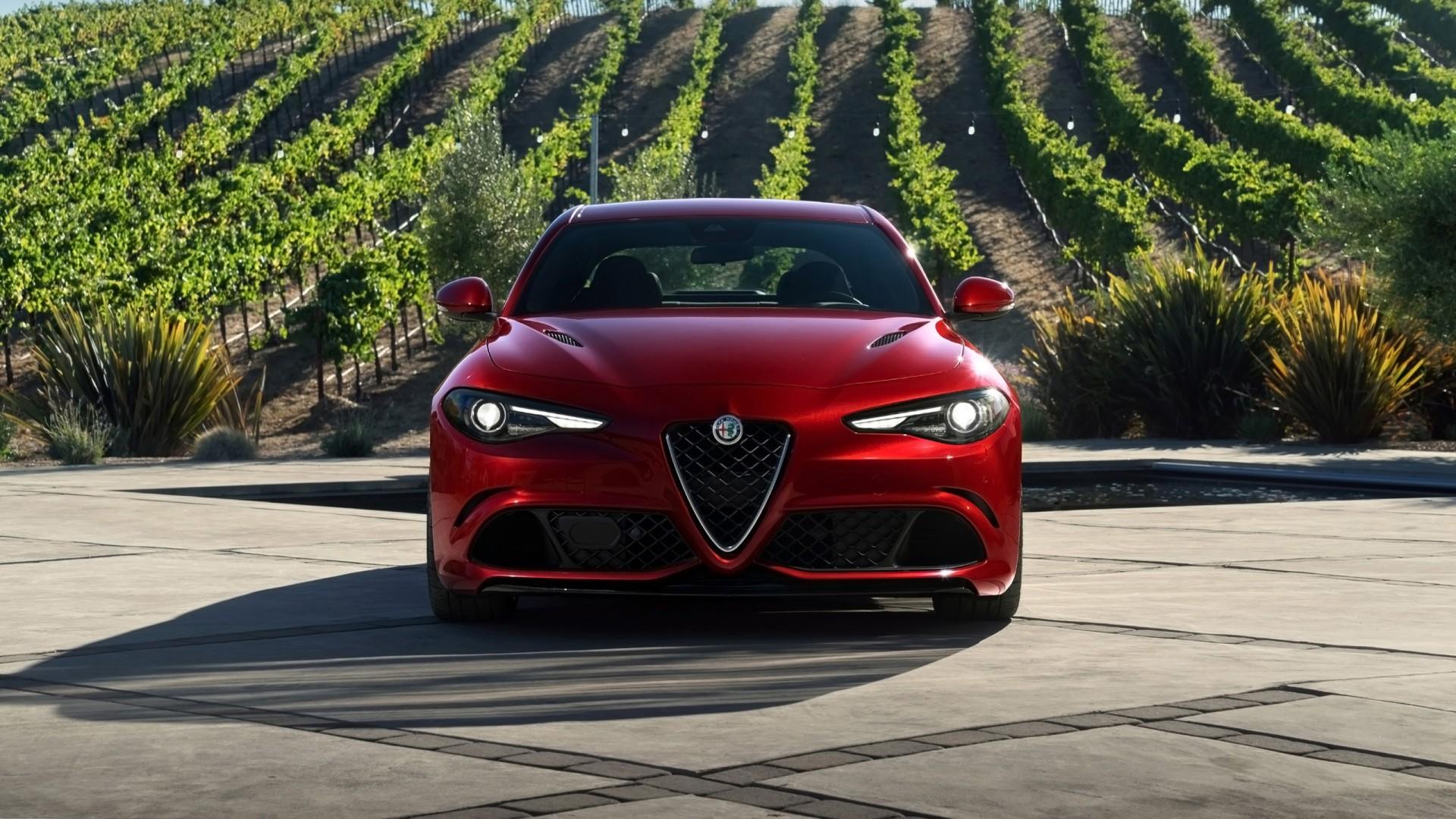 2017 Alfa Romeo Giulia Quadrifoglio 3 Wallpaper Hd Car