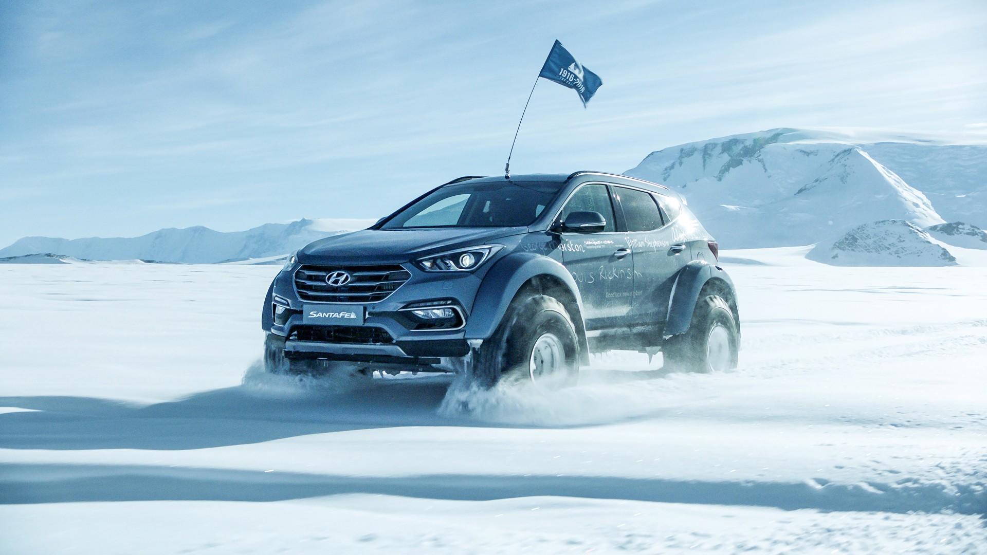 2017 Arctic Trucks Hyundai Santa Fe Wallpaper