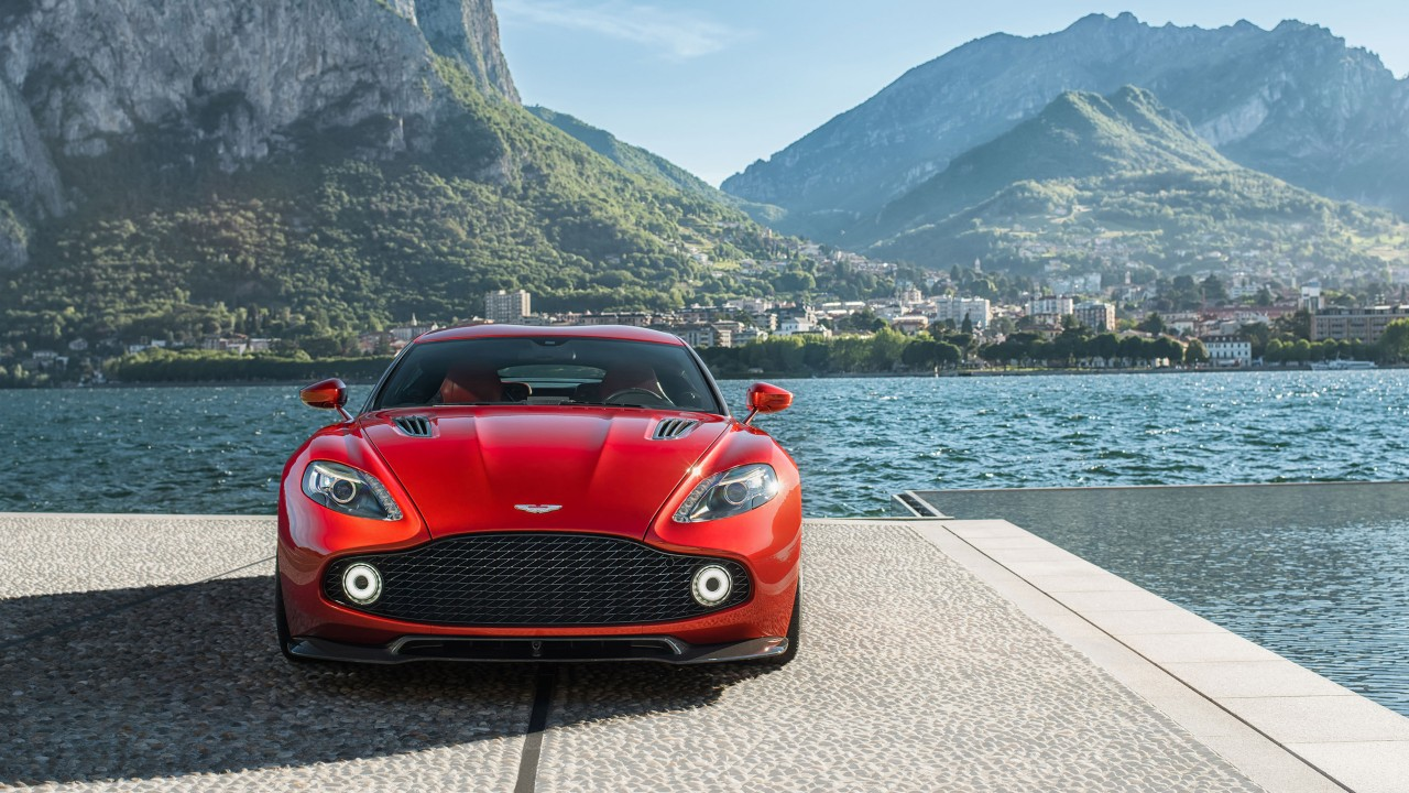 2017 Aston Martin Vanquish Zagato Wallpaper  HD Car Wallpapers