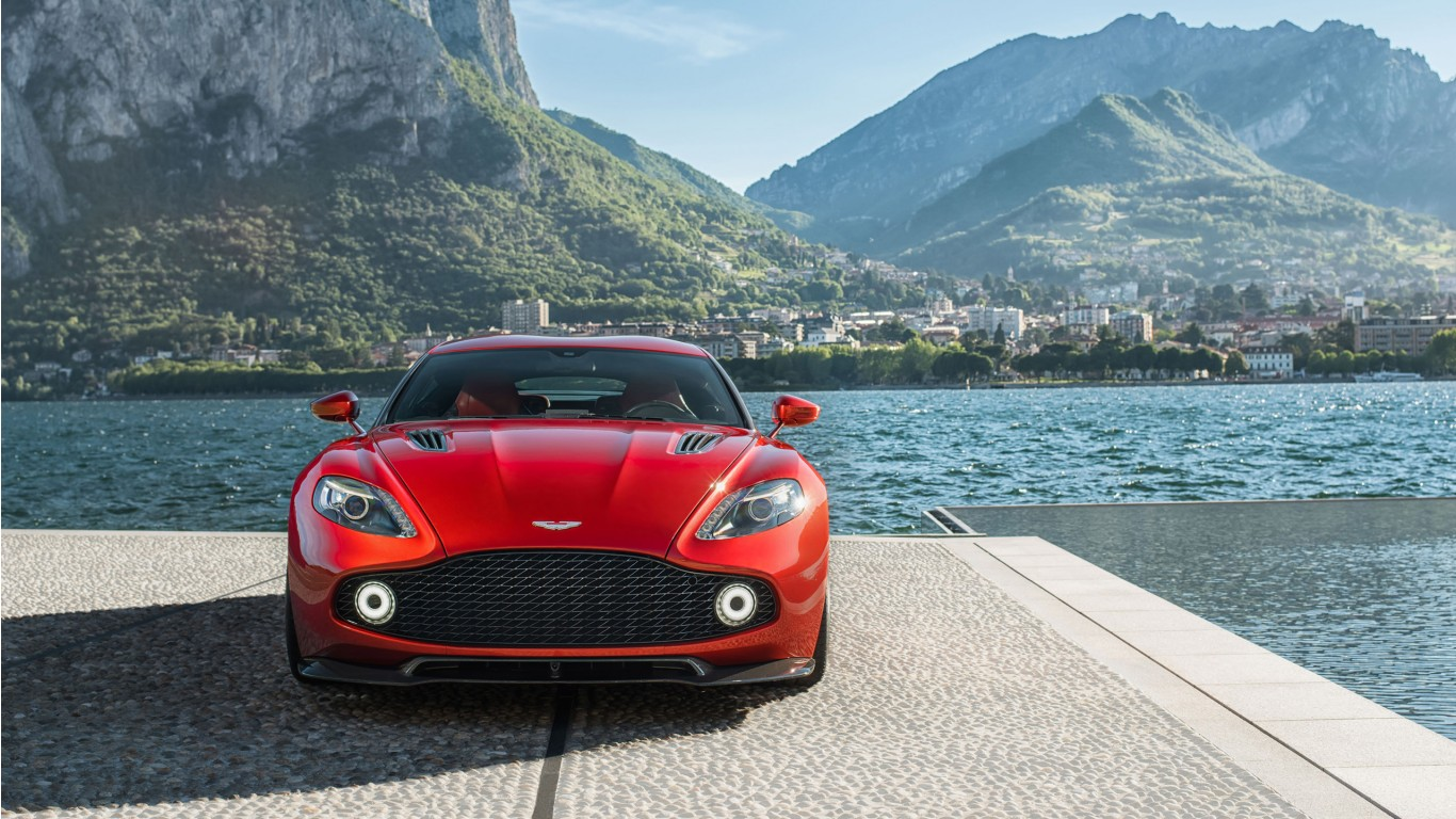 2017 Aston Martin Vanquish Zagato Wallpaper  HD Car Wallpapers