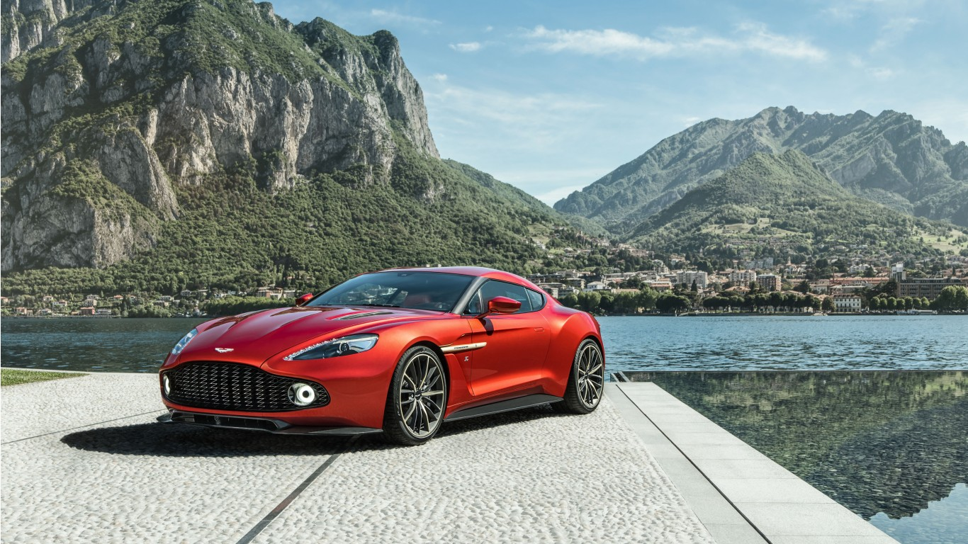 2017 Aston Martin Vanquish Zagato 5 Wallpaper Hd Car