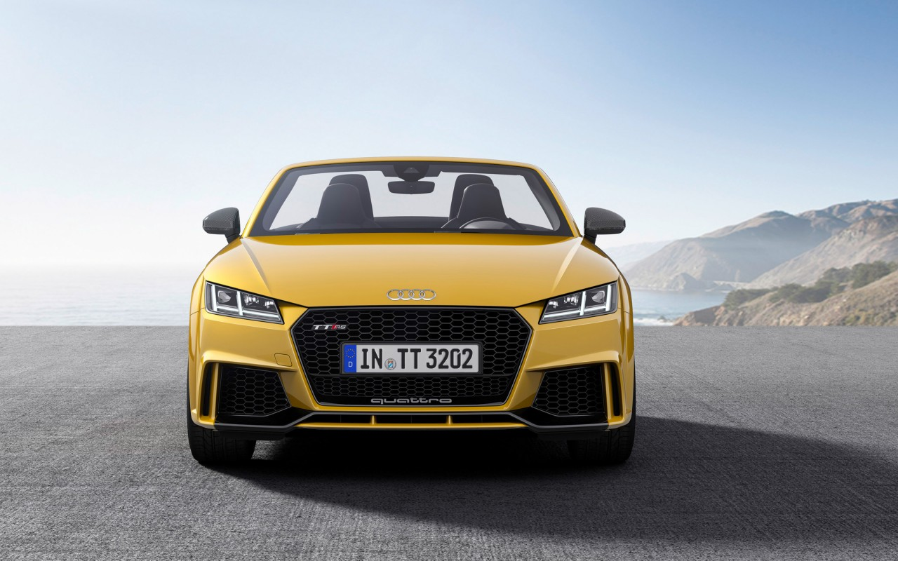 2017 audi tt rs roadster wallpaper hd car wallpapers id. Black Bedroom Furniture Sets. Home Design Ideas