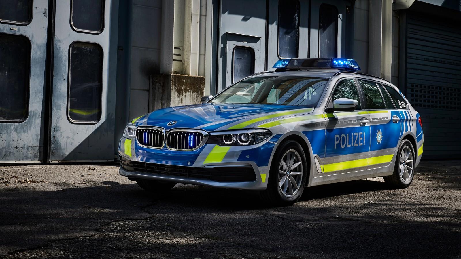 2017 Bmw 530d Xdrive Touring Polizei Wallpaper Hd Car Wallpapers Id 8383