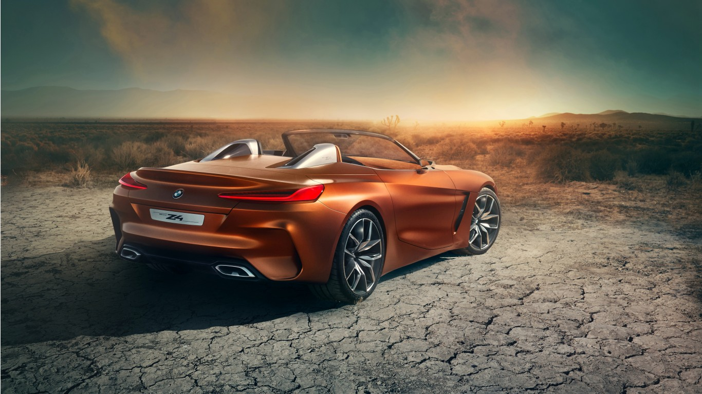2017 Bmw Concept Z4 4k 2 Wallpaper Hd Car Wallpapers Id 8210