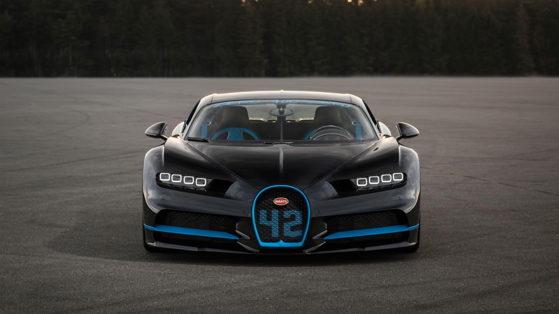 2017 Bugatti Chiron Zero 400 Zero 4K Wallpaper