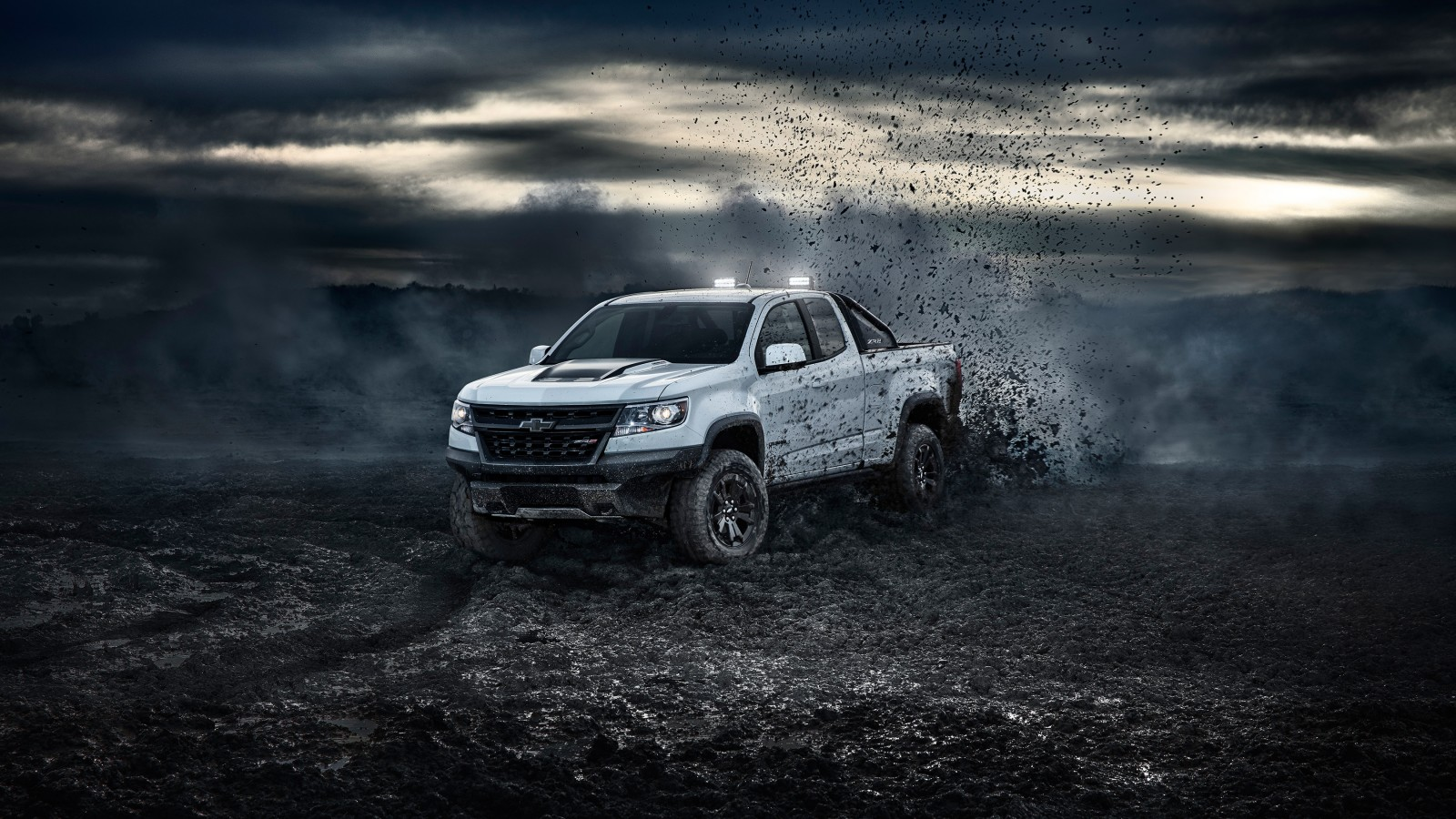 2017 Chevrolet Colorado Zr2 Crew Cab Wallpaper Hd Car Wallpapers Id 8888