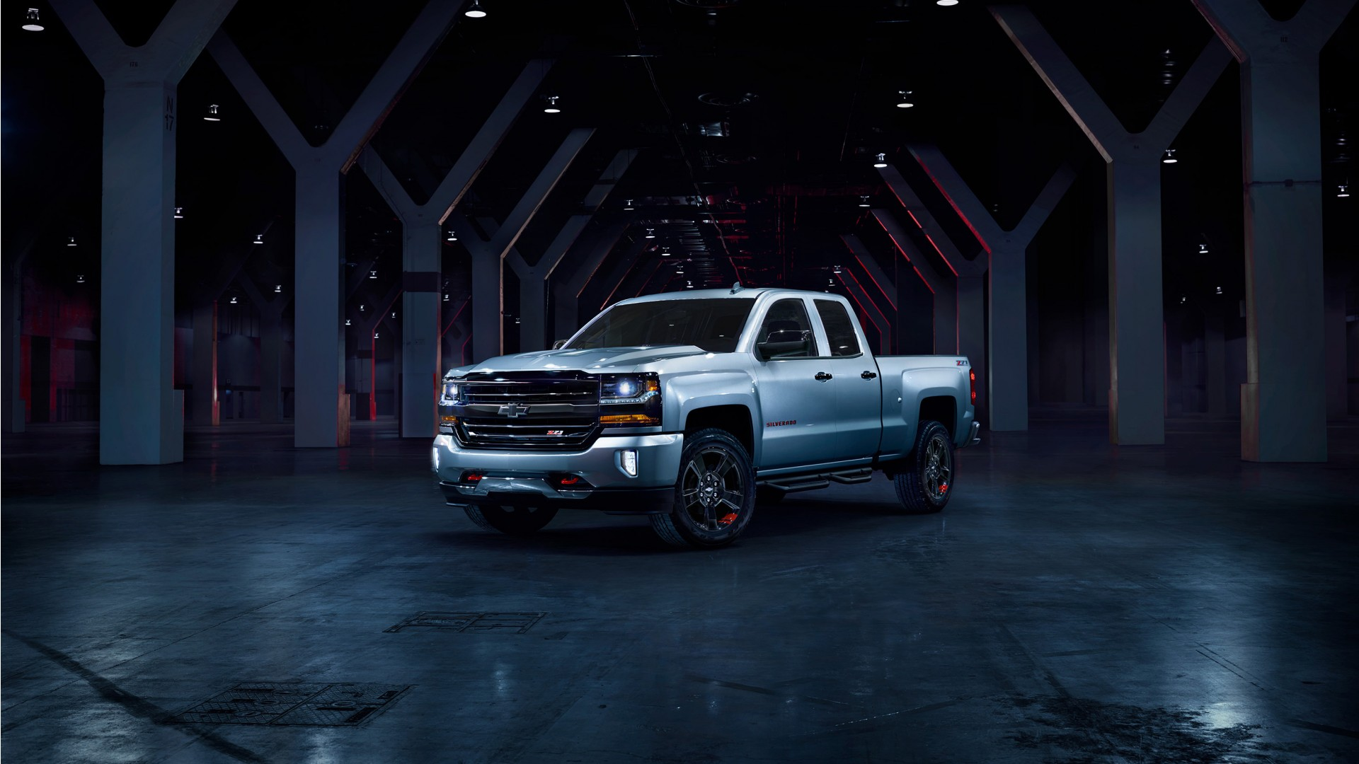 2017 Chevrolet Silverado Redline Edition Wallpaper | HD Car Wallpapers