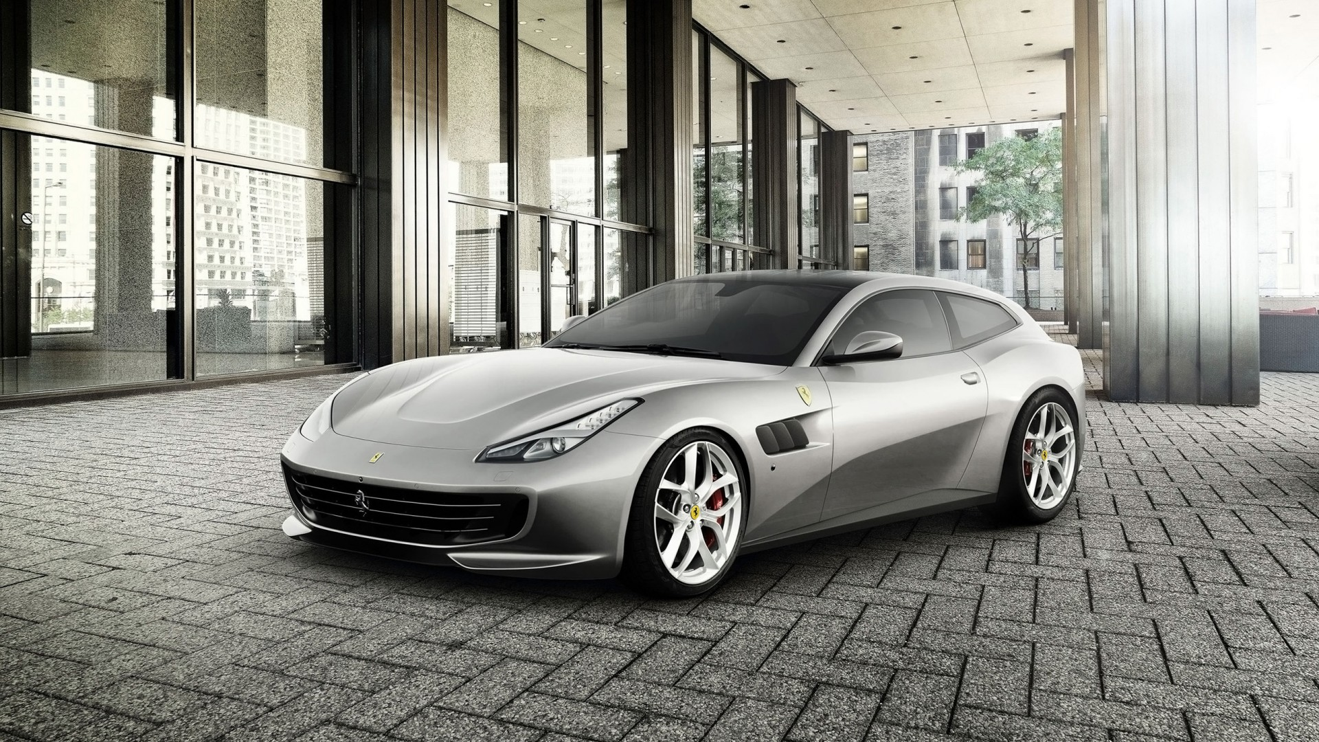2017 Ferrari Gtc4lusso T 3 Wallpaper Hd Car Wallpapers Id 7040