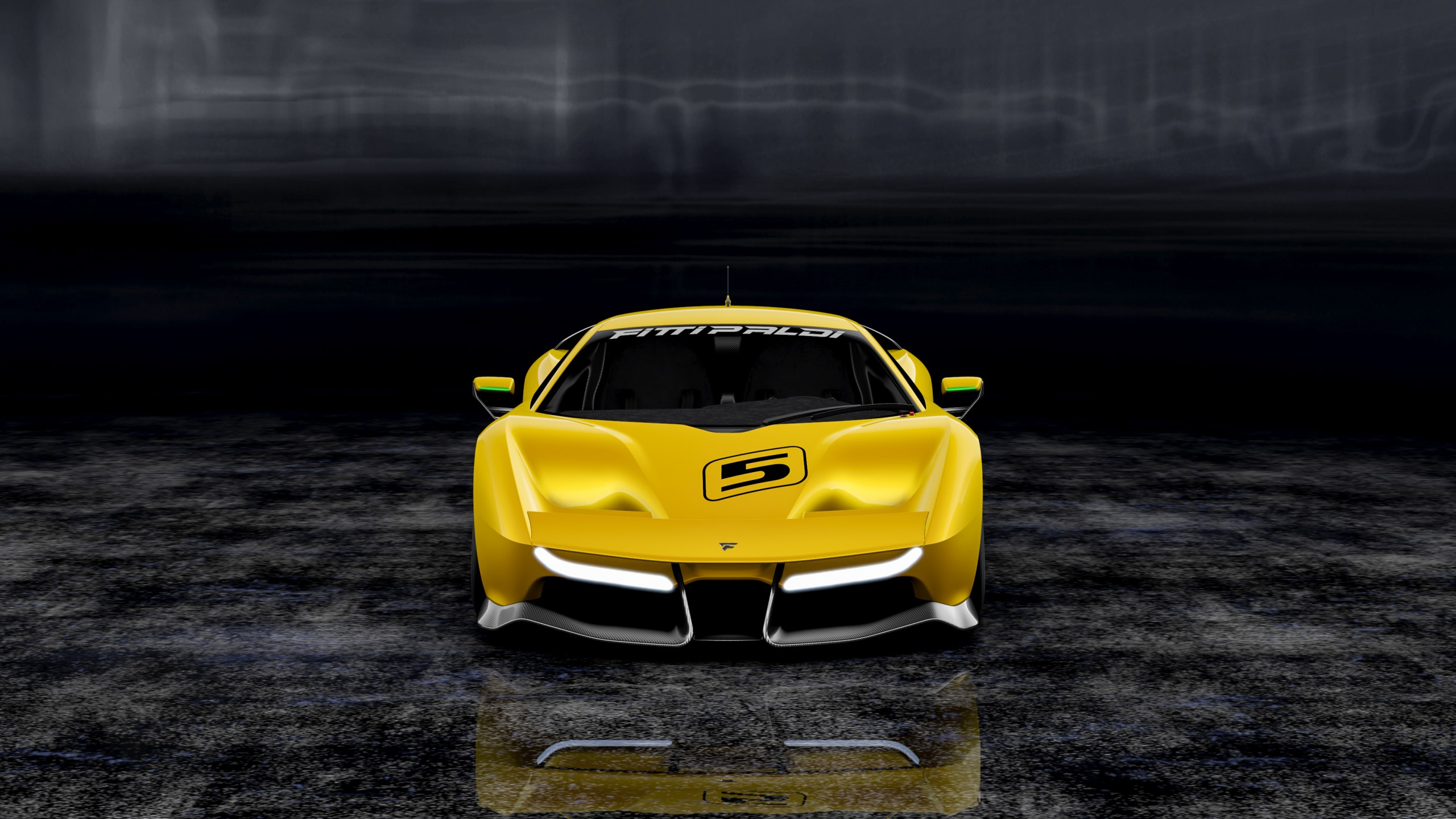 2017 Fittipaldi Ef7 Vision Gran Turismo 2 Wallpaper Hd