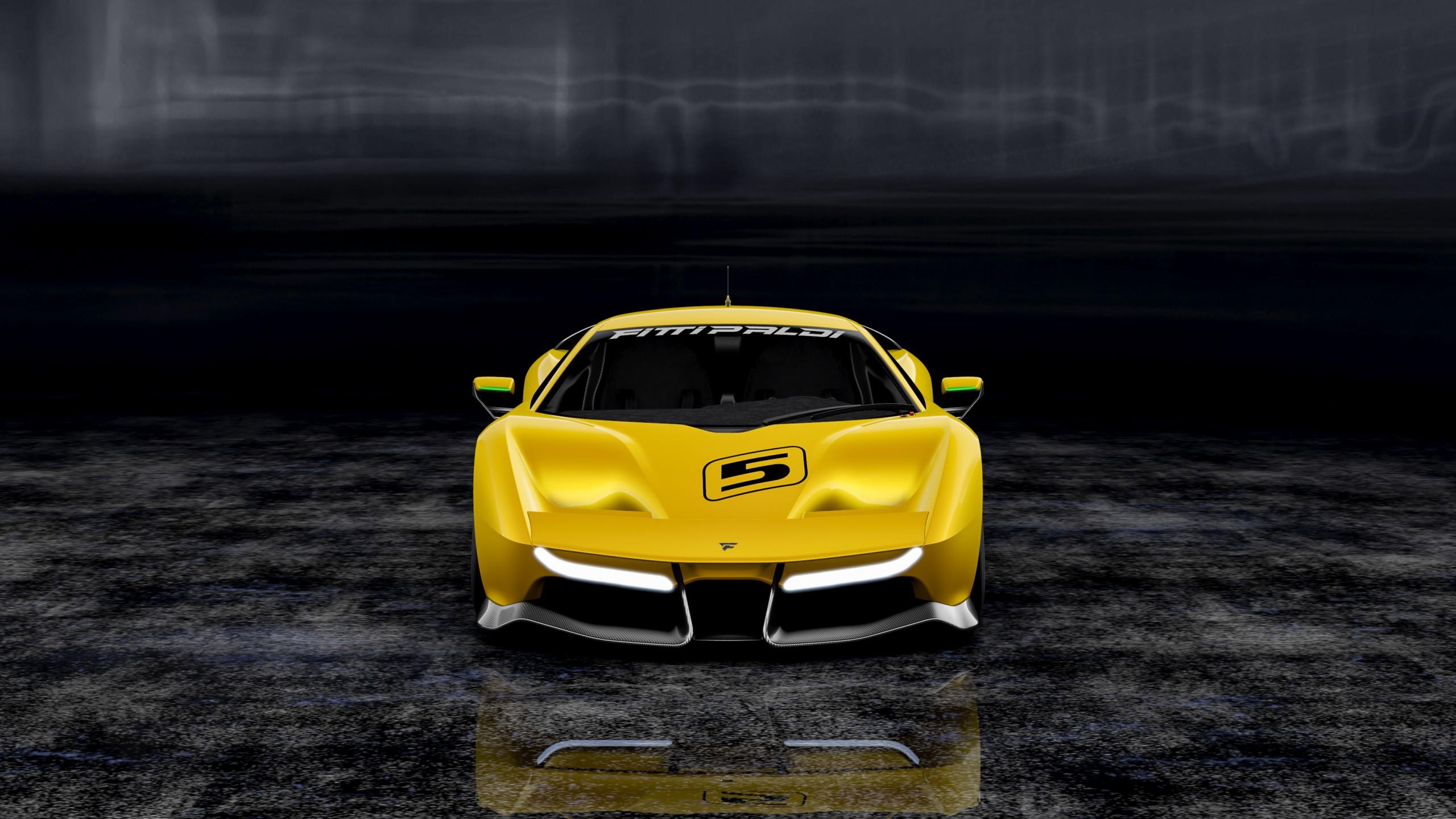 2017 Fittipaldi Ef7 Vision Gran Turismo 2 Wallpaper Hd