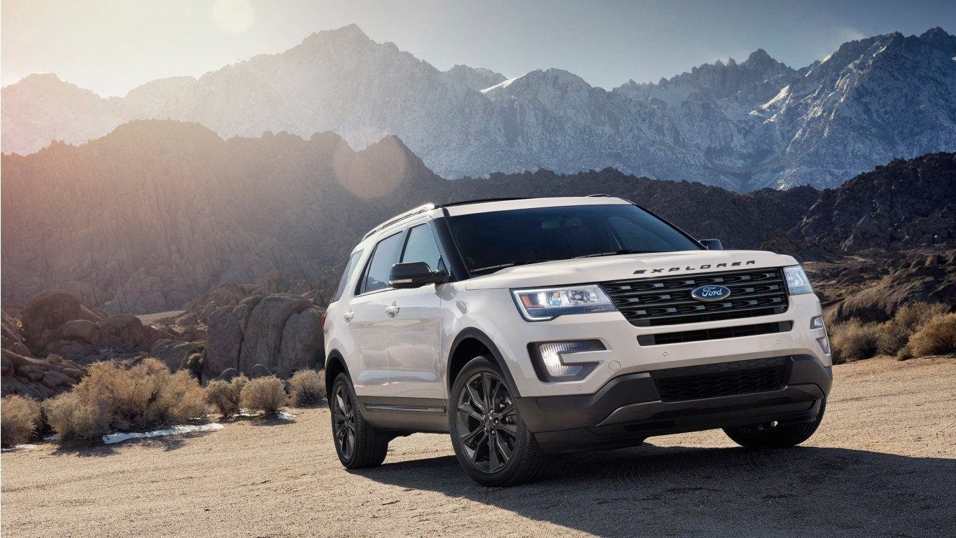 2017 ford explorer xlt appearance package wallpaper