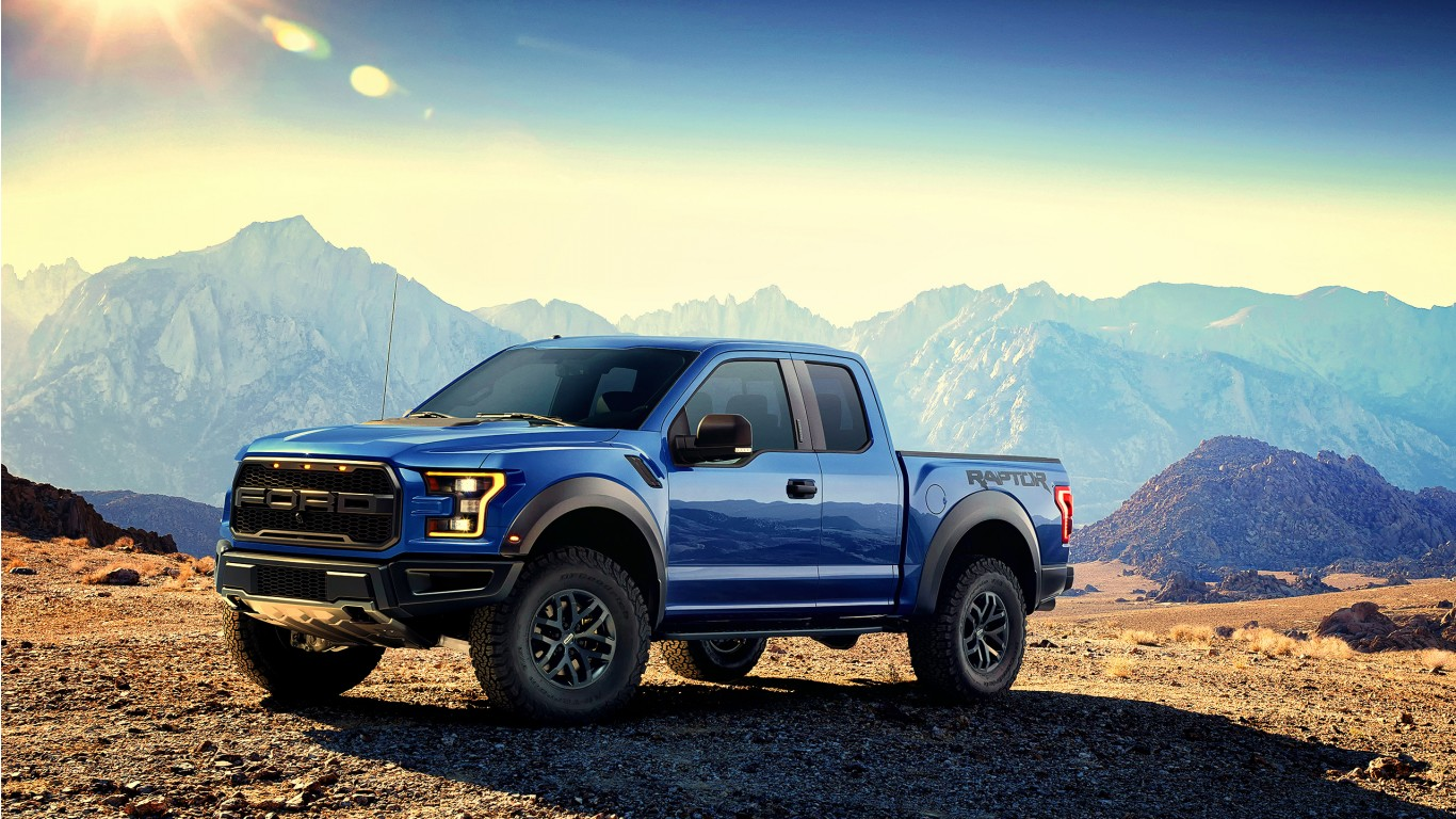 2017 Ford F 150 Svt Raptor Wallpaper Hd Car Wallpapers