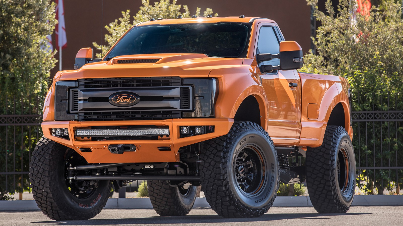 2017 Ford F 250 Super Duty XLT By BDS Suspension Wallpaper ...