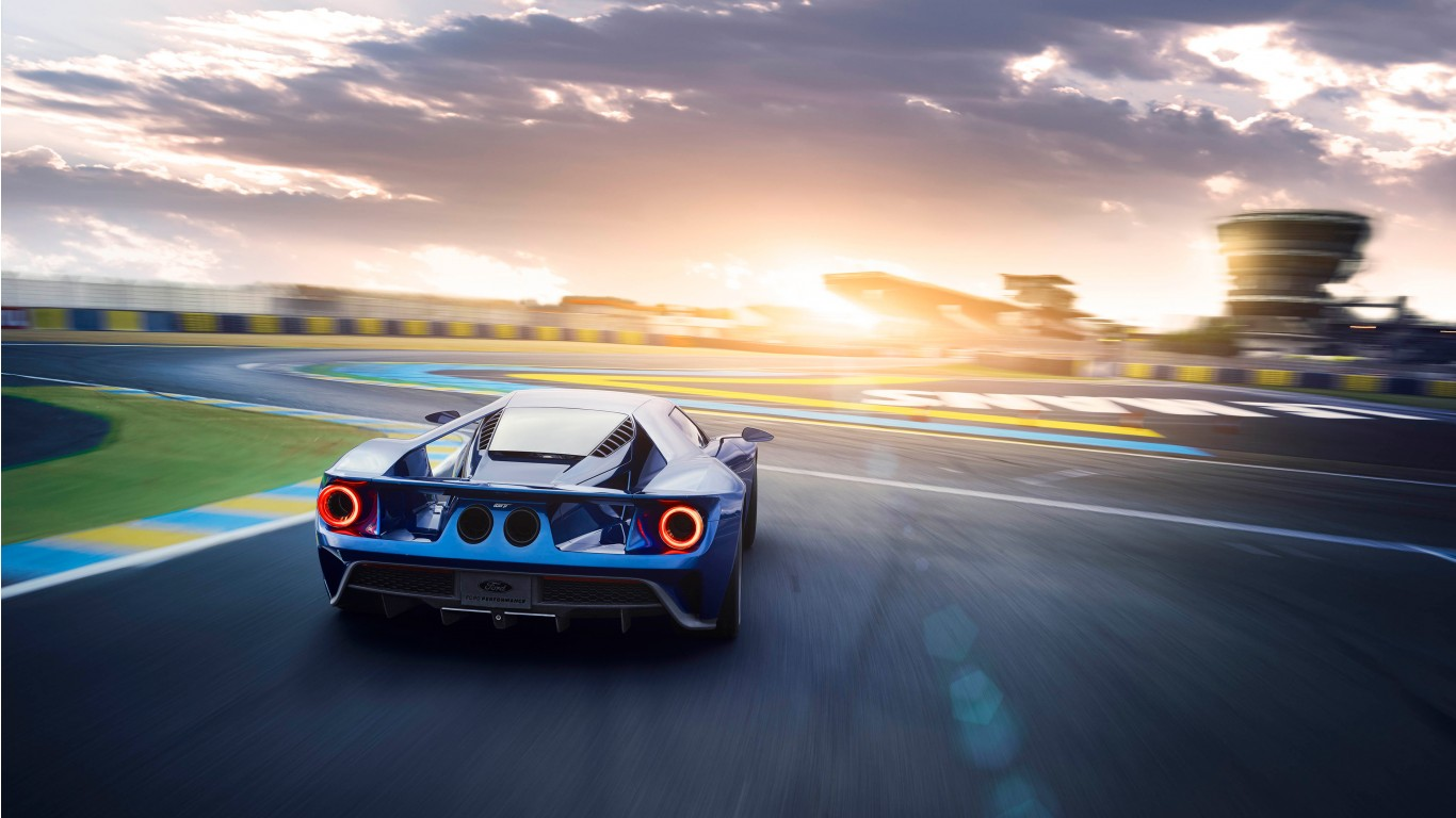 Ford Gt Supercars American Cars 2017 4k Uhd Widescreen: 2017 Ford GT Rear Wallpaper