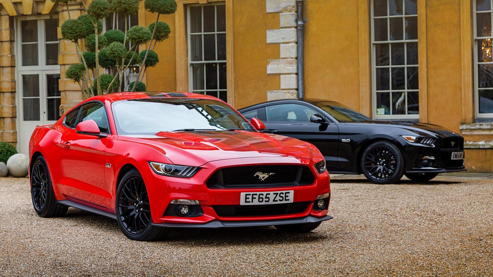 2017 Ford Mustang 4K Wallpaper