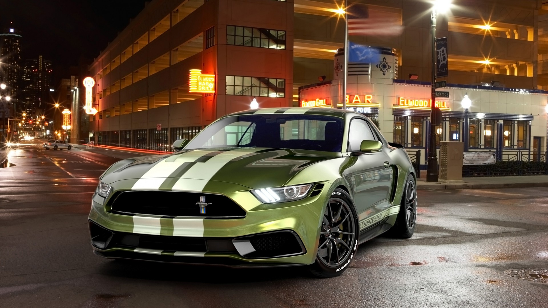 2018 Ford Mustang Gt >> 2017 Ford Mustang NotchBack Design Wallpaper   HD Car Wallpapers   ID #7651