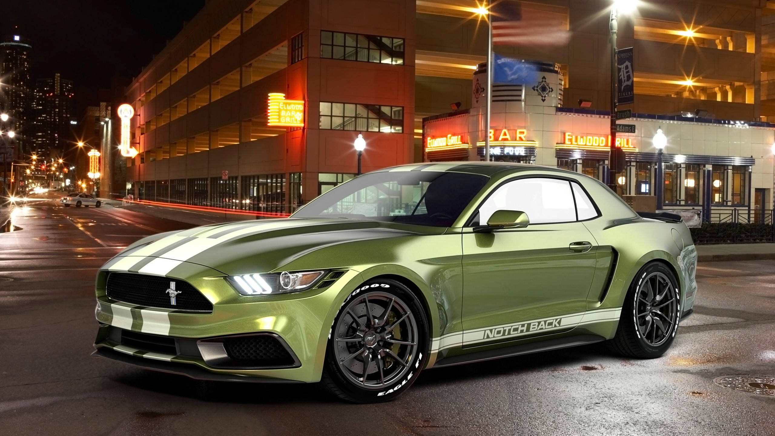 mustang ford notchback gold hd lime wallpapers chris cars 1080 1440 1920 def wheels 1366 2560 hdcarwallpapers 1600
