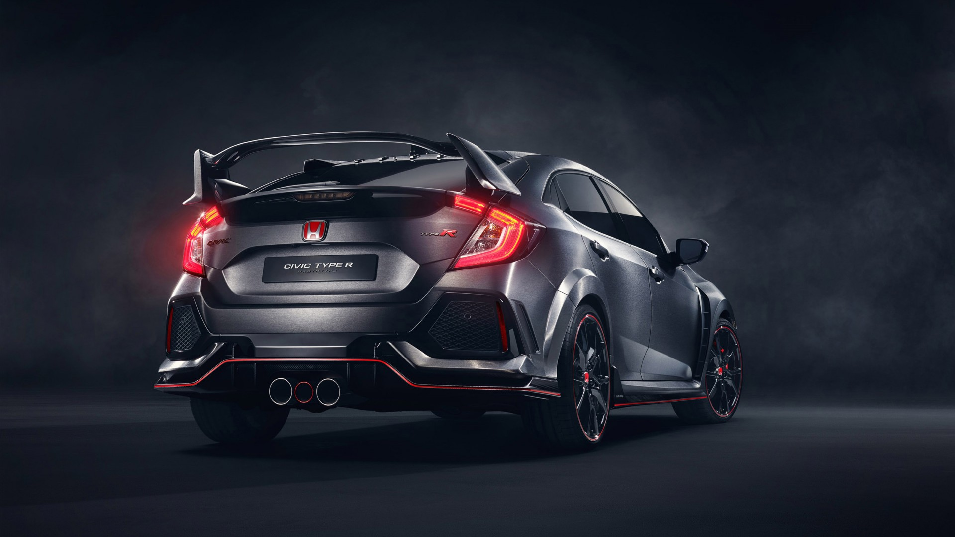2017 honda civic type r 3 wallpaper hd car wallpapers. Black Bedroom Furniture Sets. Home Design Ideas