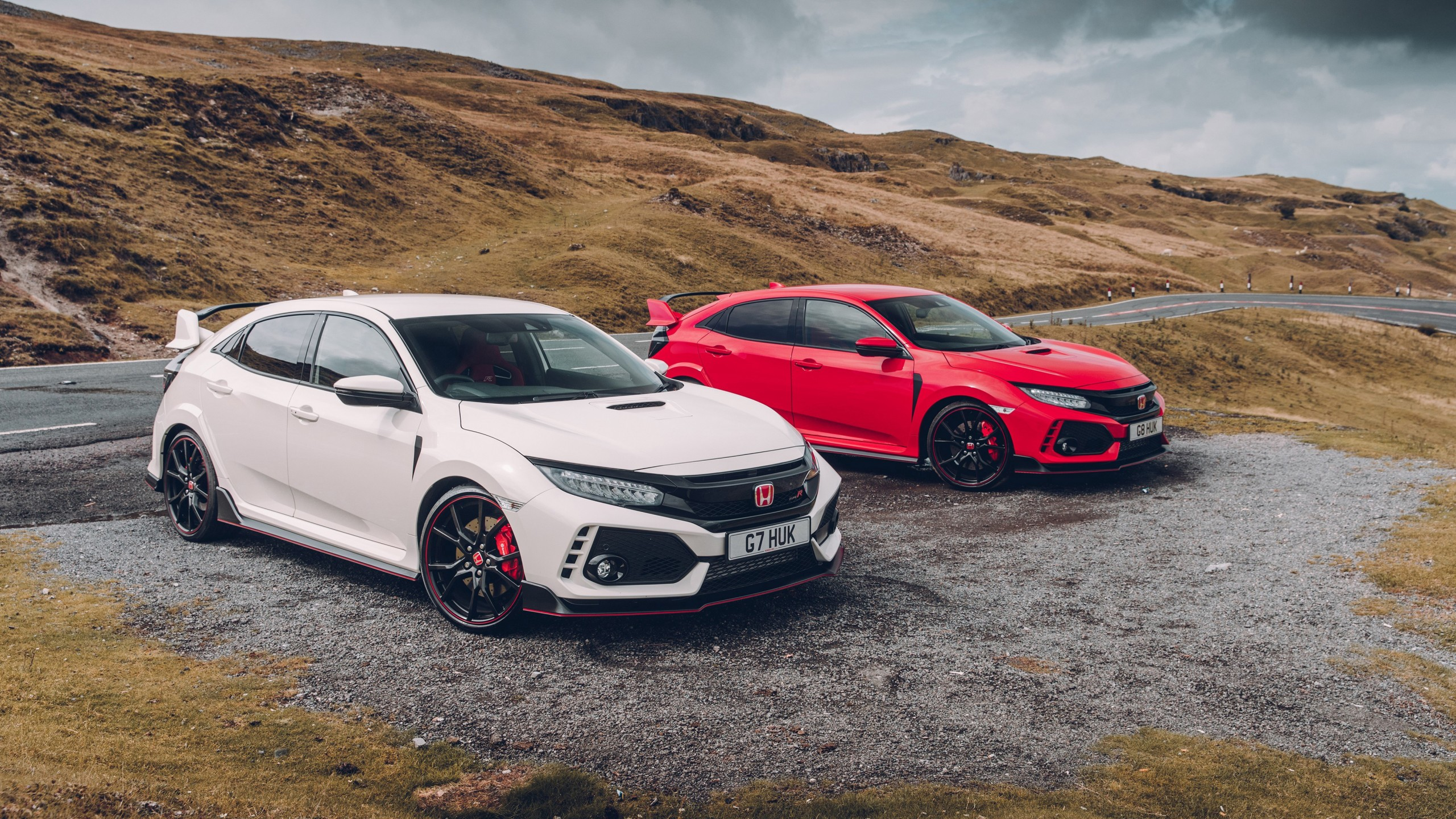 2017 Honda Civic Type R 4K 2 Wallpaper