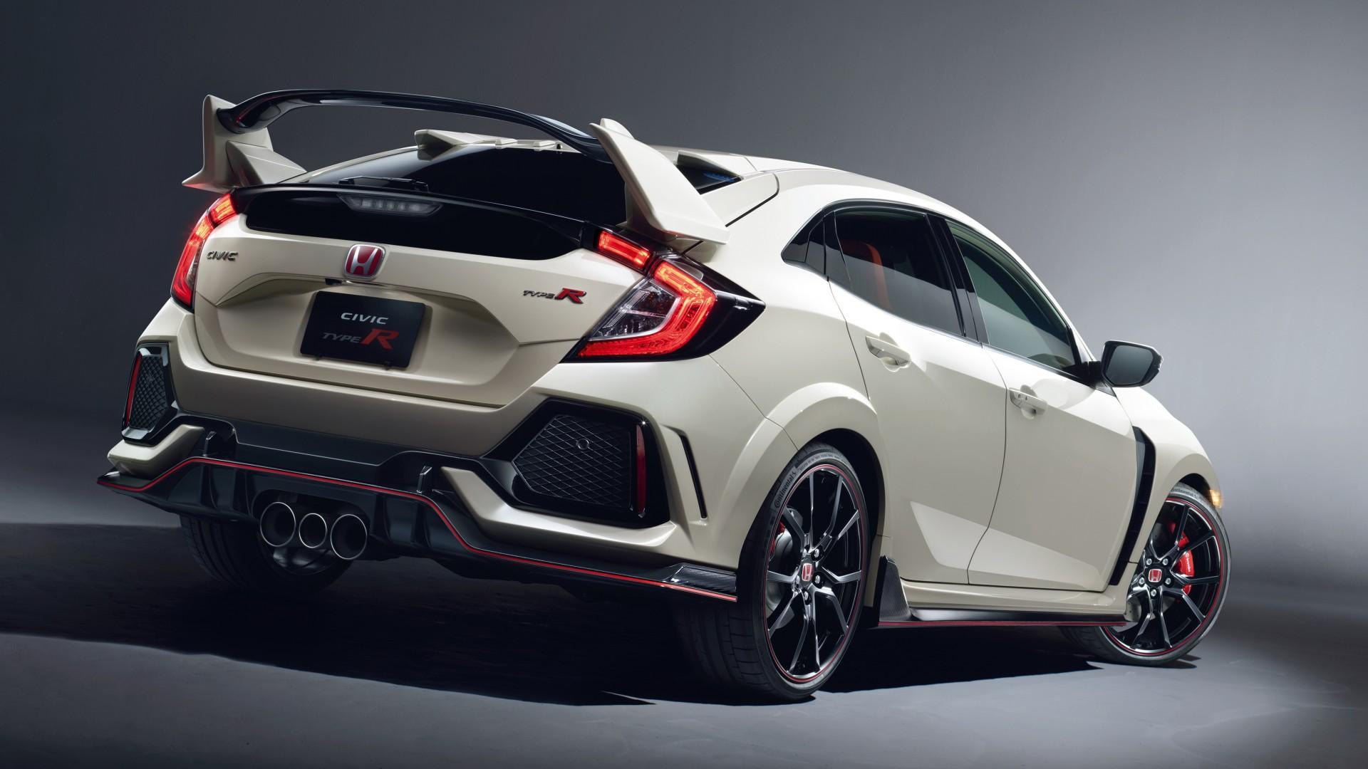2017 Honda Civic Type R 4 Wallpaper Hd Car Wallpapers Id 8155