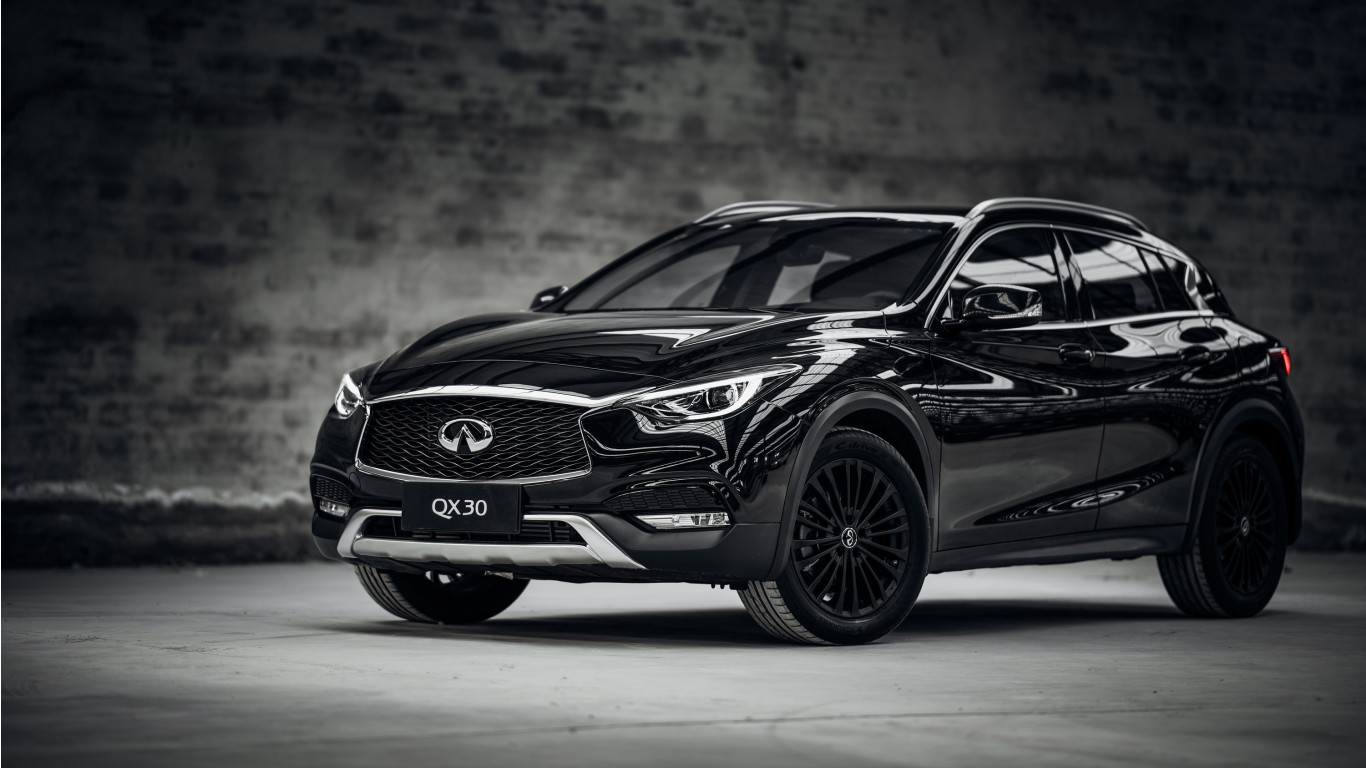 2017 Infiniti Qx30 Night Edition Wallpaper Hd Car