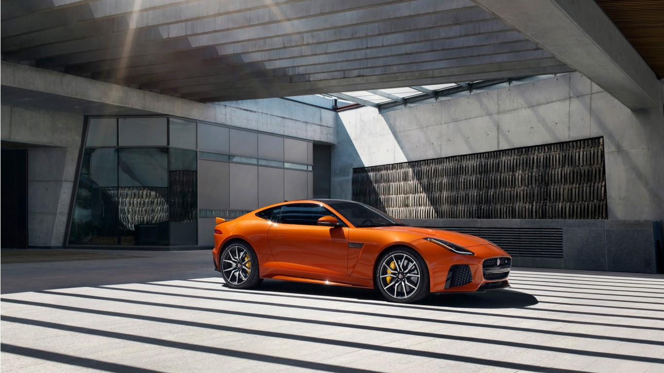 Jeep Aston Martin >> 2017 Jaguar F Type SVR Coupe Wallpaper | HD Car Wallpapers | ID #6255