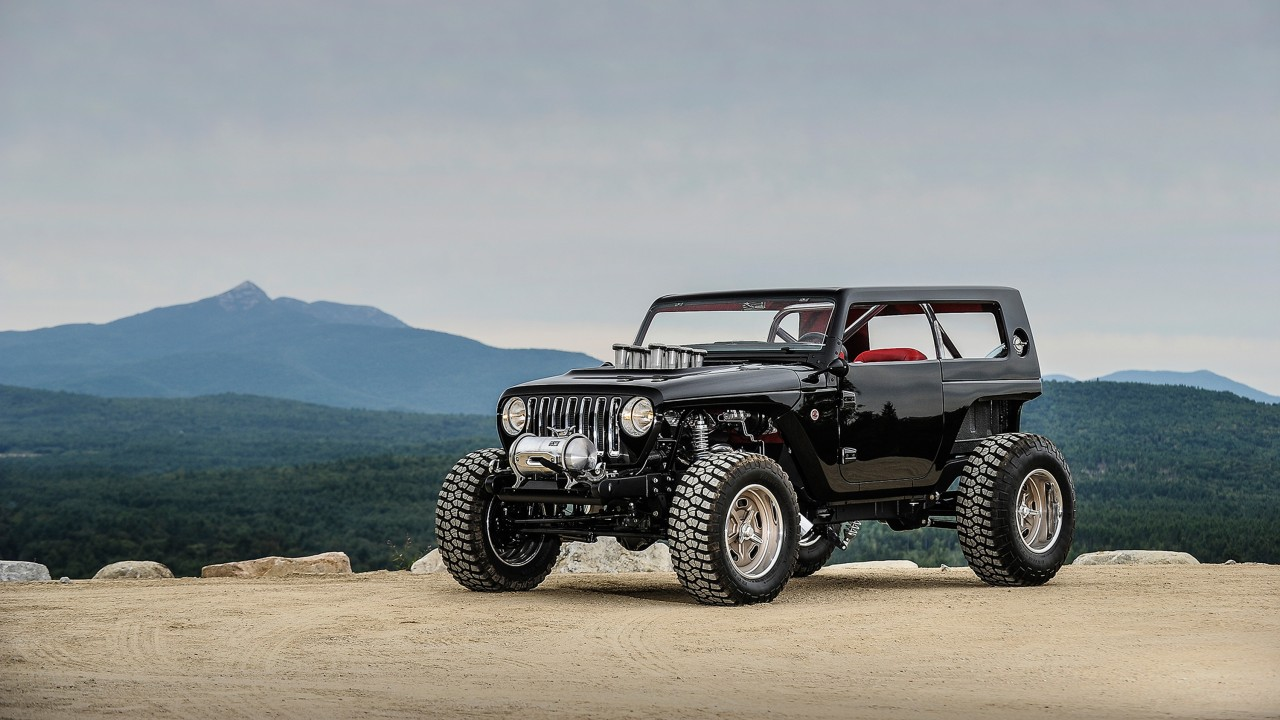 Jeep Car Images Hd: 2017 Jeep Quicksand Concept Wallpaper