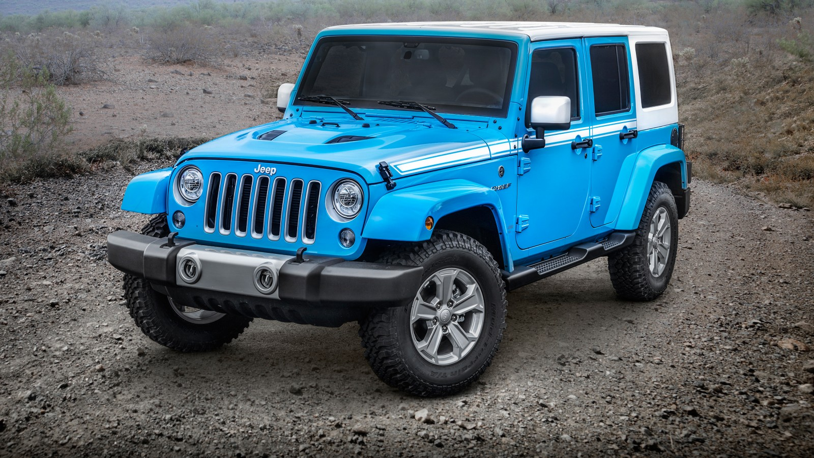 2017 Jeep Wrangler Unlimited Chief Wallpaper Hd Car