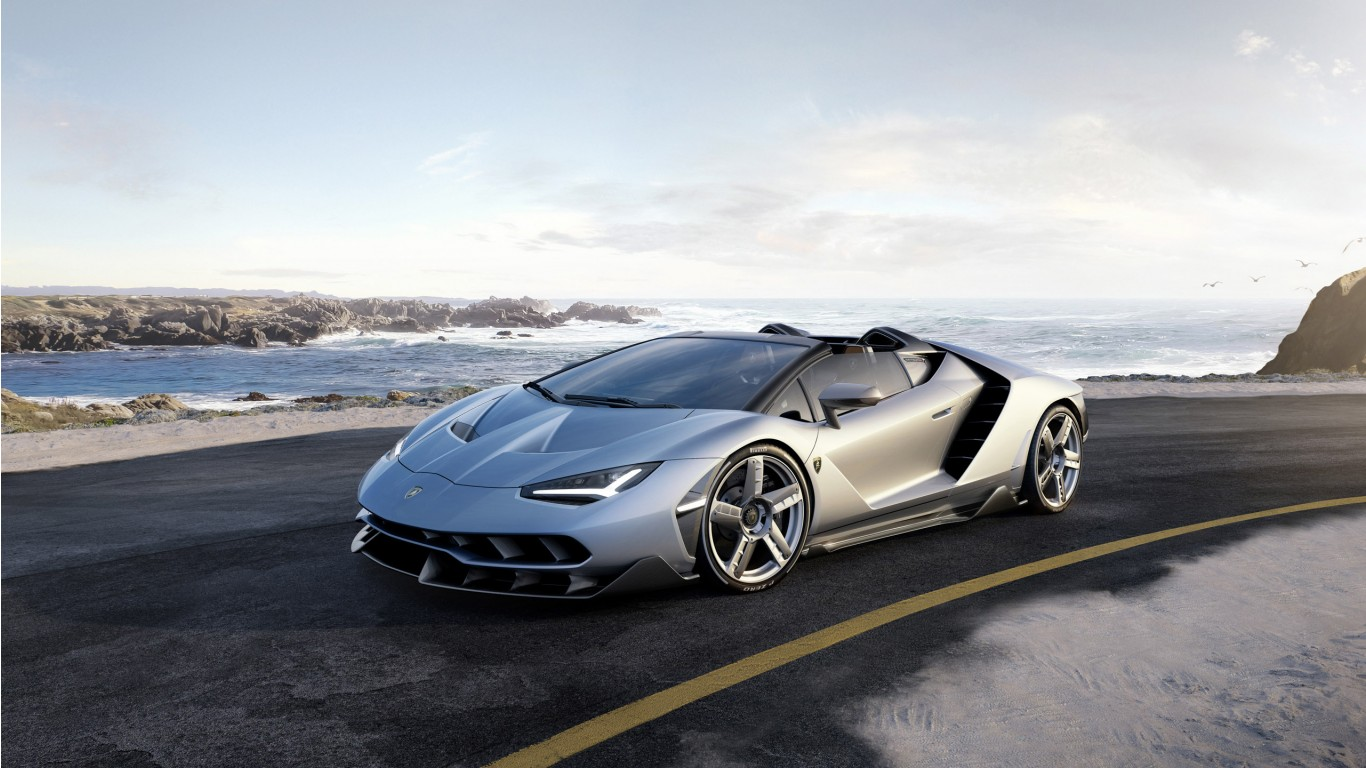 2017 Lamborghini Centenario Roadster Wallpaper | HD Car ...