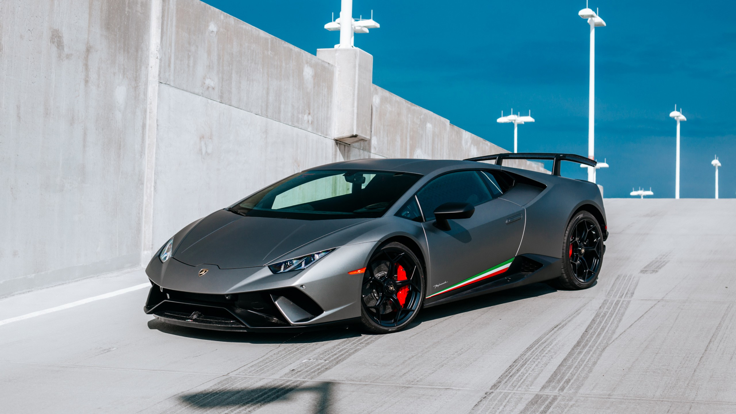 2017 Lamborghini Huracan Performante 4K 2 Wallpaper HD