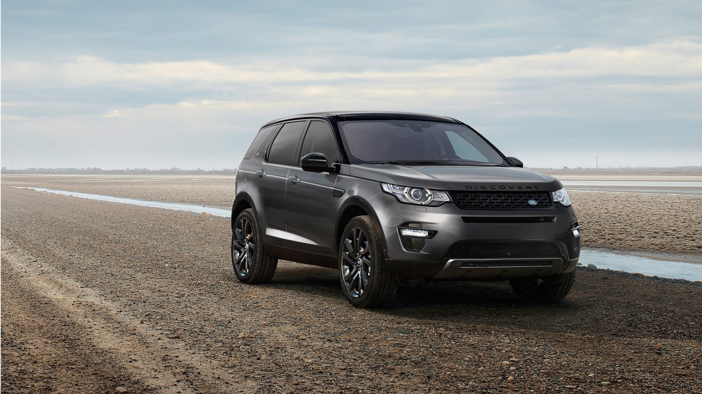 2017 land rover discovery sport 4k wallpaper hd car. Black Bedroom Furniture Sets. Home Design Ideas