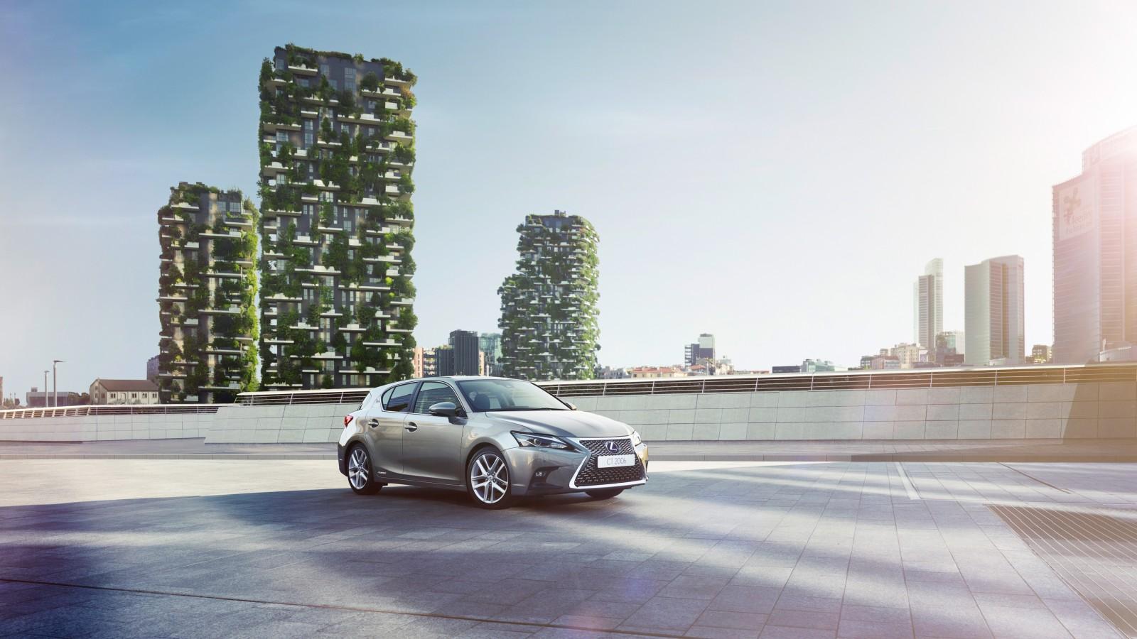 2017 Lexus CT 200h 4K 2 Wallpaper