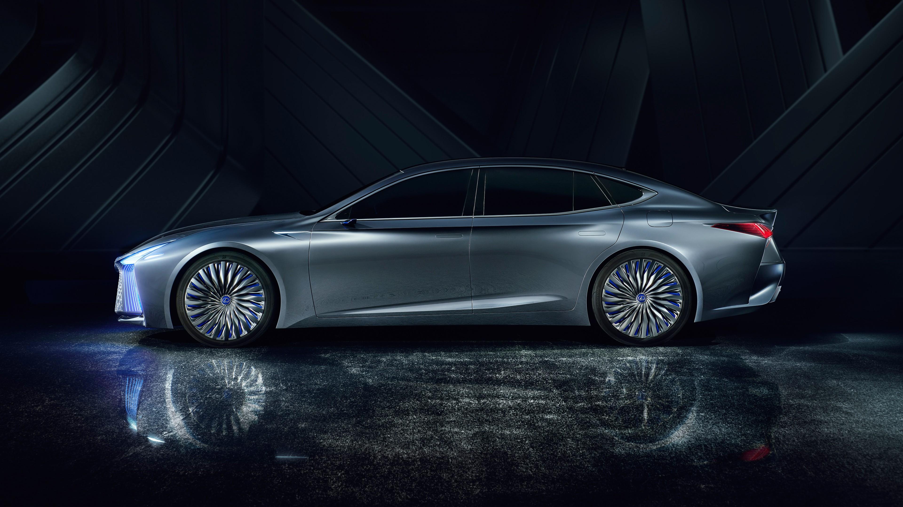 2017 Lexus LS Plus Concept 4K Wallpaper | HD Car ...