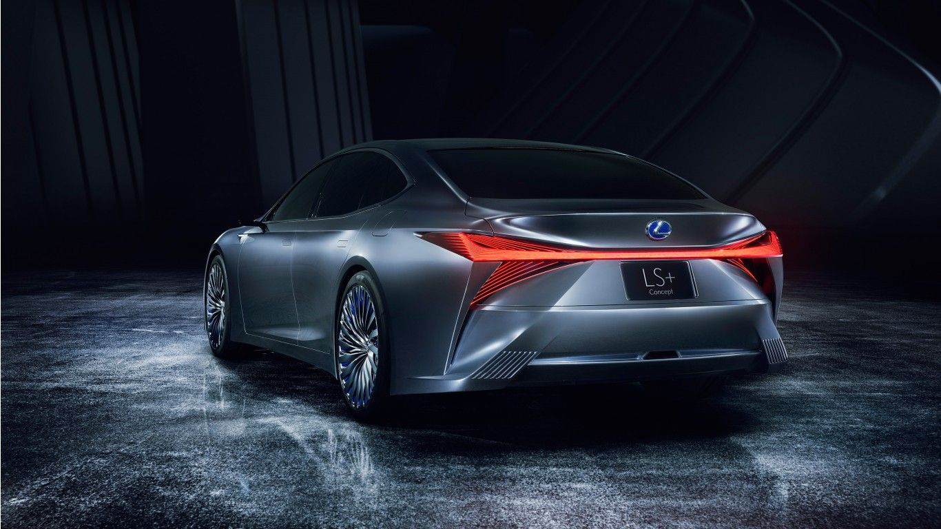 2017 Lexus LS Plus Concept 4K 5 Wallpaper | HD Car ...