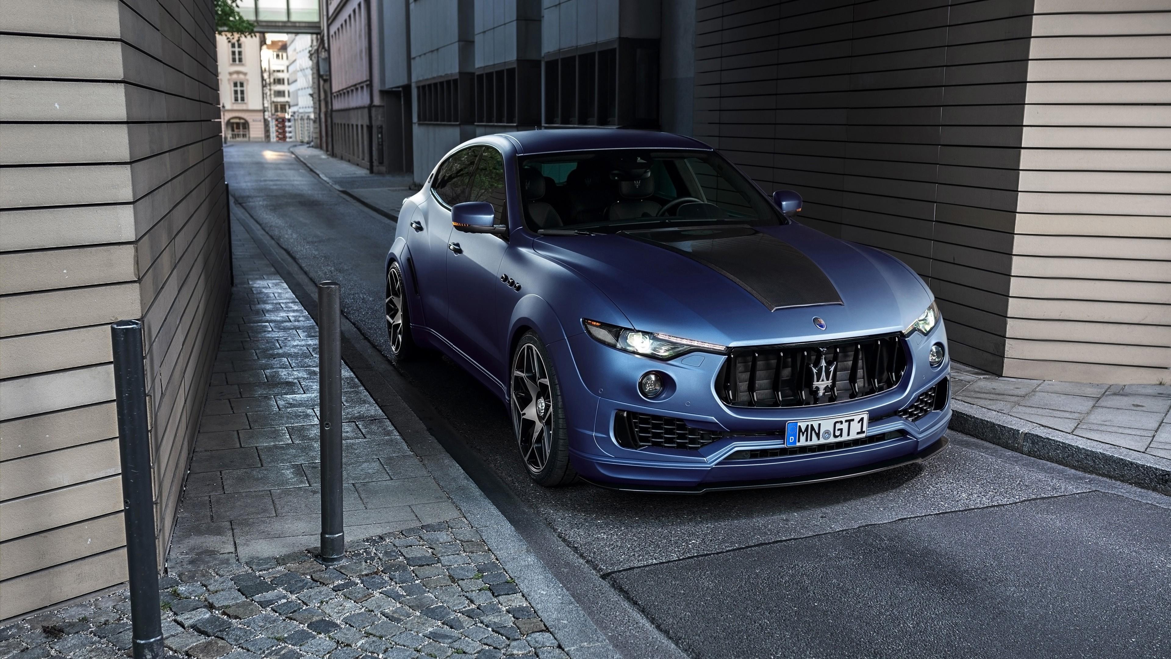 Image [ 4 of 9 ] - 2017 Maserati Levante Esteso By Novitec 4k ...