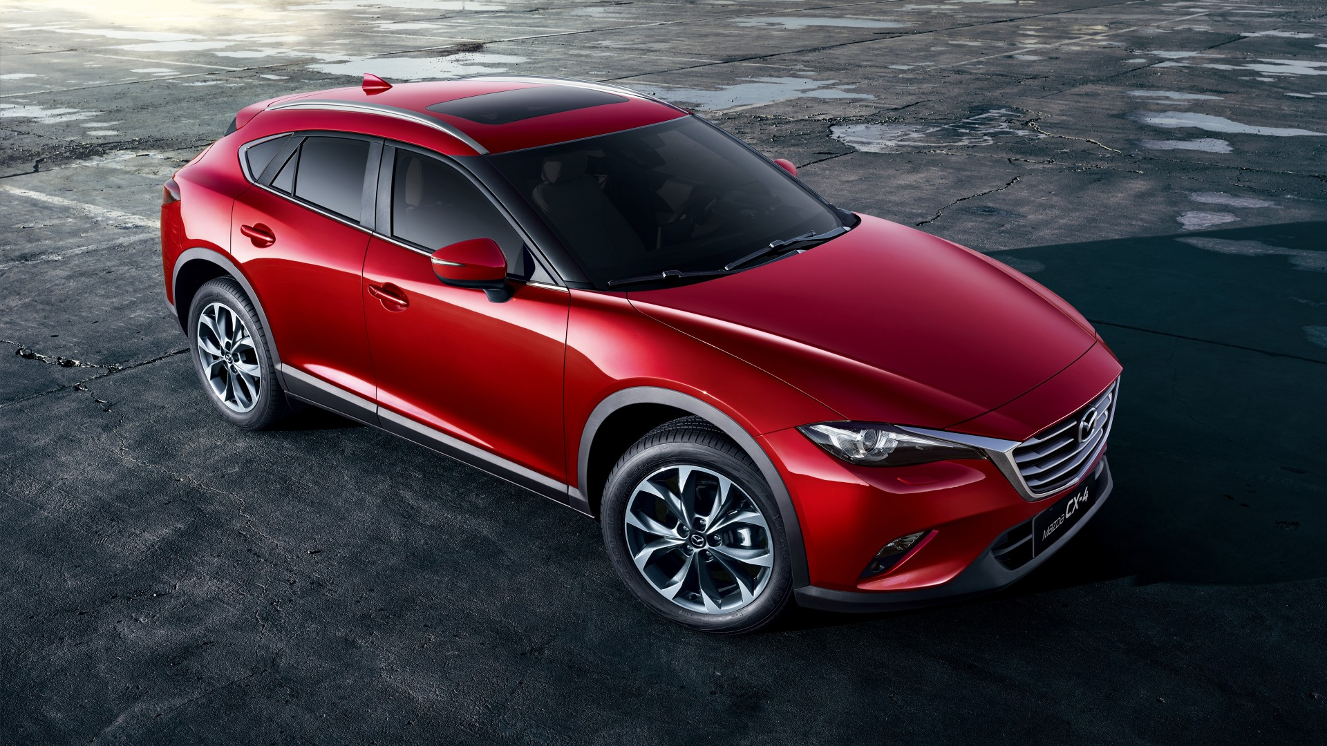 2017 Mazda CX 4 4K Wallpaper