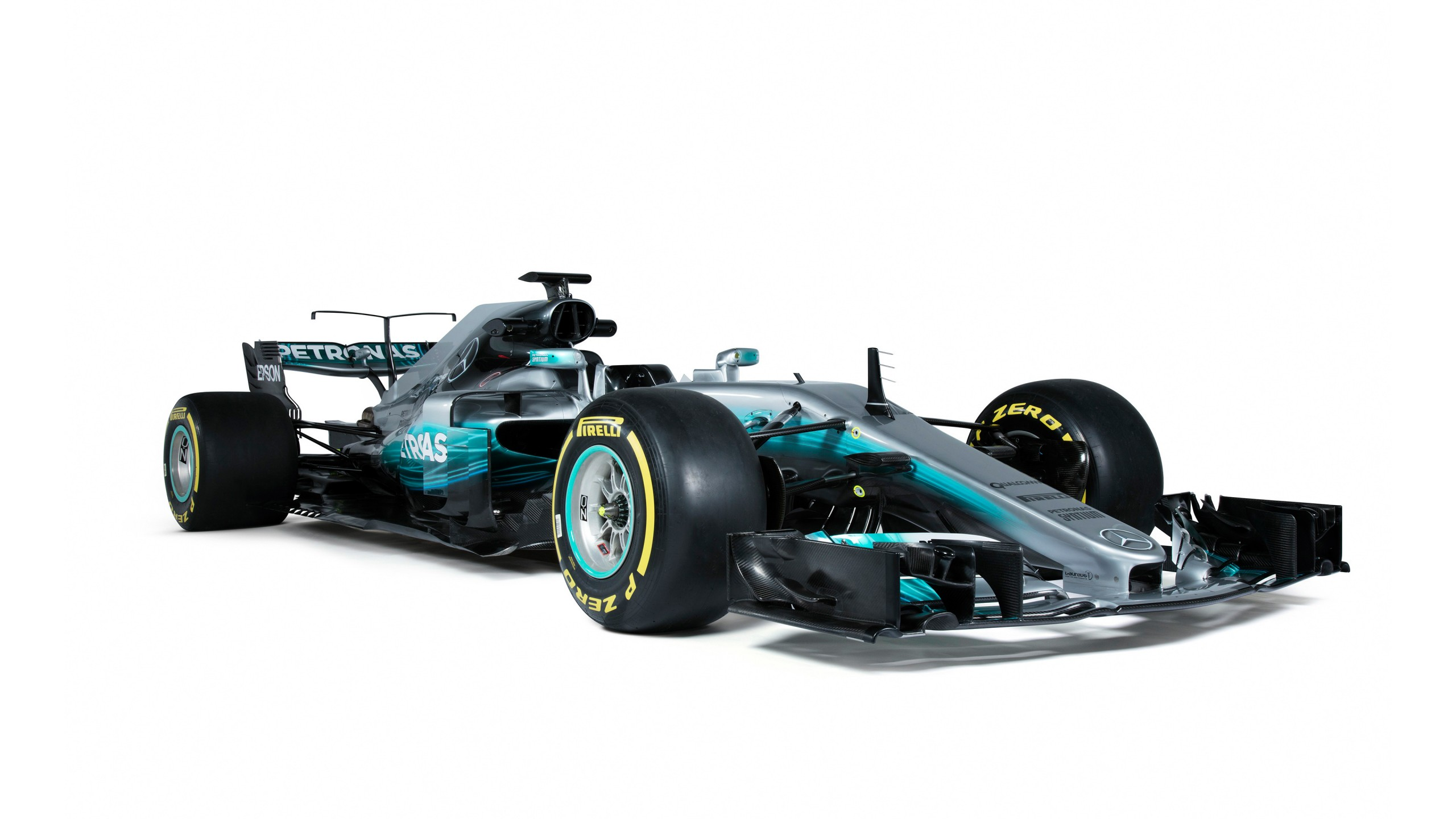 2017 Mercedes Amg F1 W08 Eq Power Formula 1 Car Wallpaper