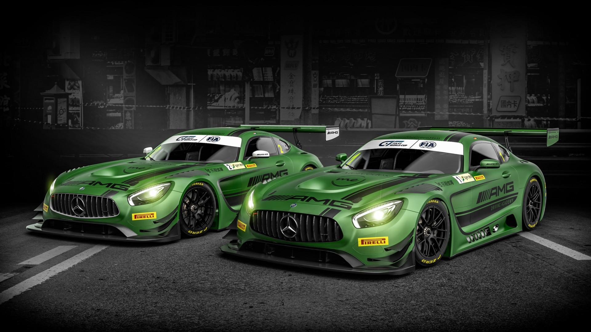 2017 Mercedes Amg Gt3 Wallpaper Hd Car Wallpapers Id 7149