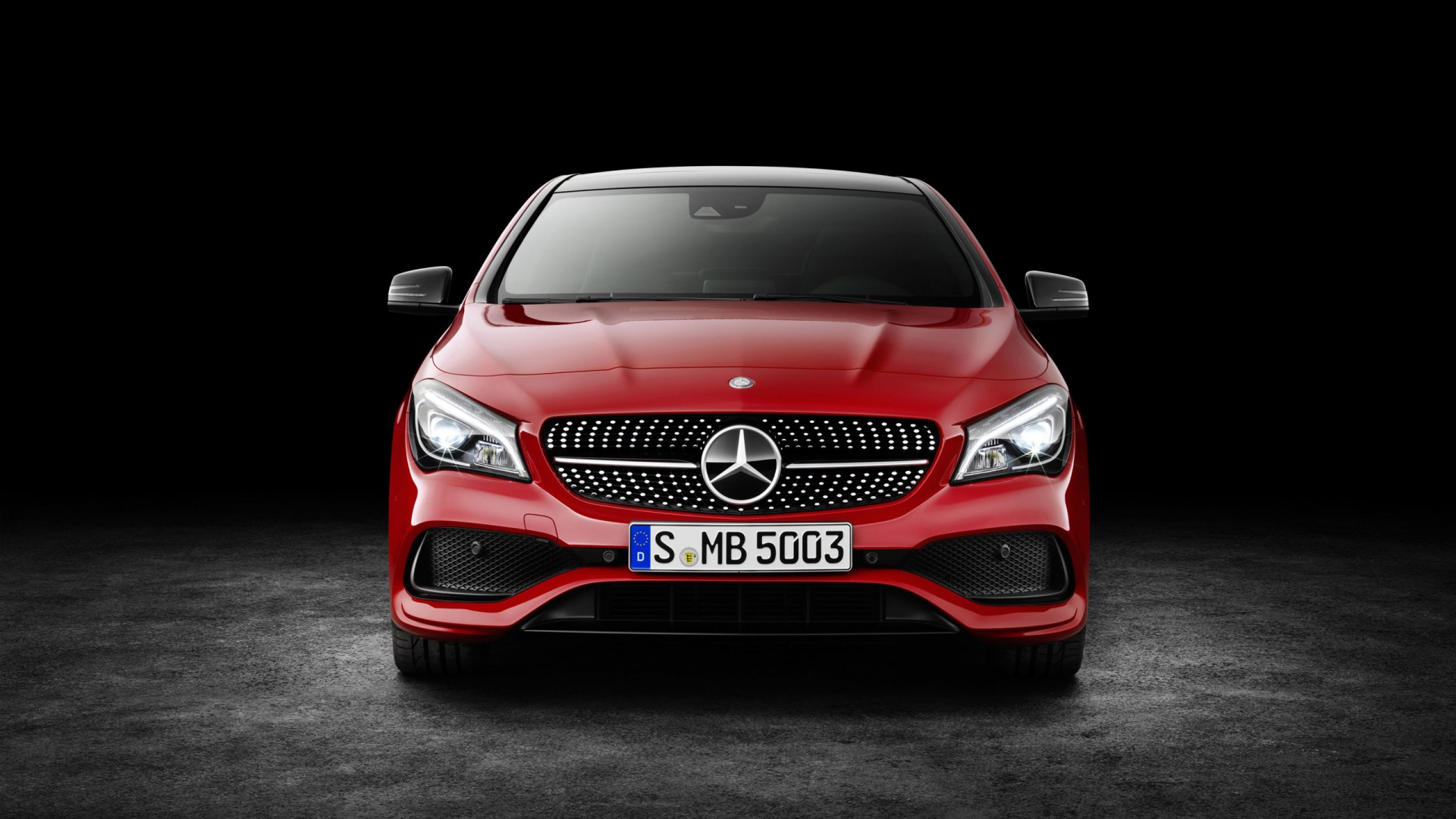 2017 mercedes benz cla wallpaper hd car wallpapers id 6343 for Mercedes benz cla coupe 2017