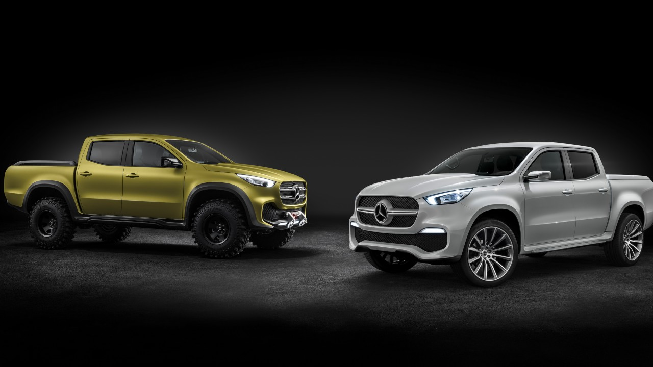 Mercedes Amg Suv >> 2017 Mercedes Benz X Class Pickup Truck 8K Wallpaper | HD ...